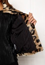 EA Leopard Short Faux Fur
