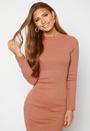 Harriet L/S High Neck Dress