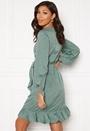 Henna L/S Wrap Dress