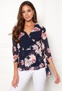 New Occasion 3/4 Wrap Top