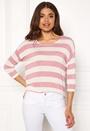 Wide Stripe 3/4 Blouse