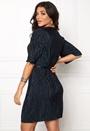 VILA Claudie Plizze Dress Total Eclipse
