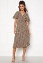 Lovie S/S Wrap Midi Dress