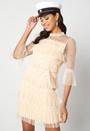 Selma O-Neck 3/4 Dress