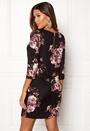 VILA Tinny 3/4 Print Dress Black