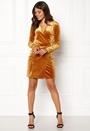 Velvetine Short Dress