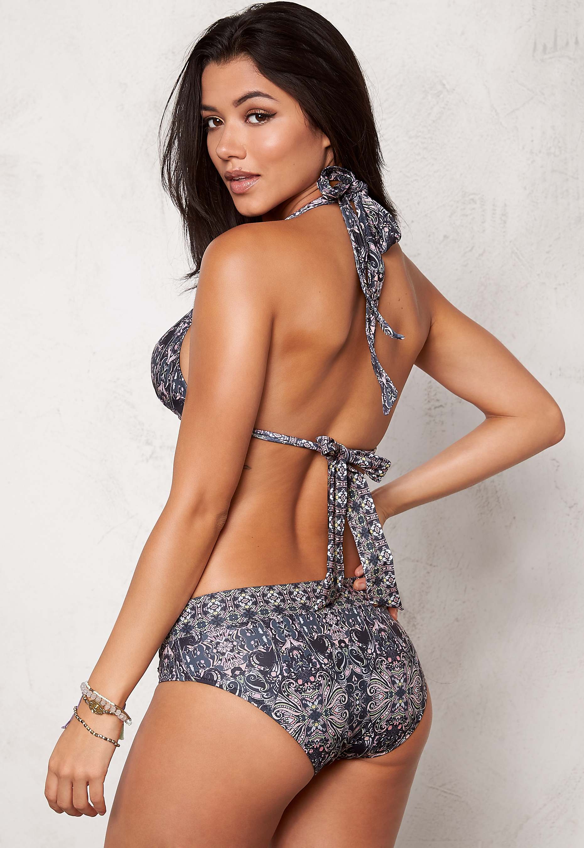 Odd Molly Position Bikini Top Asphalt - Bubbleroom 5b5323b9e23bc