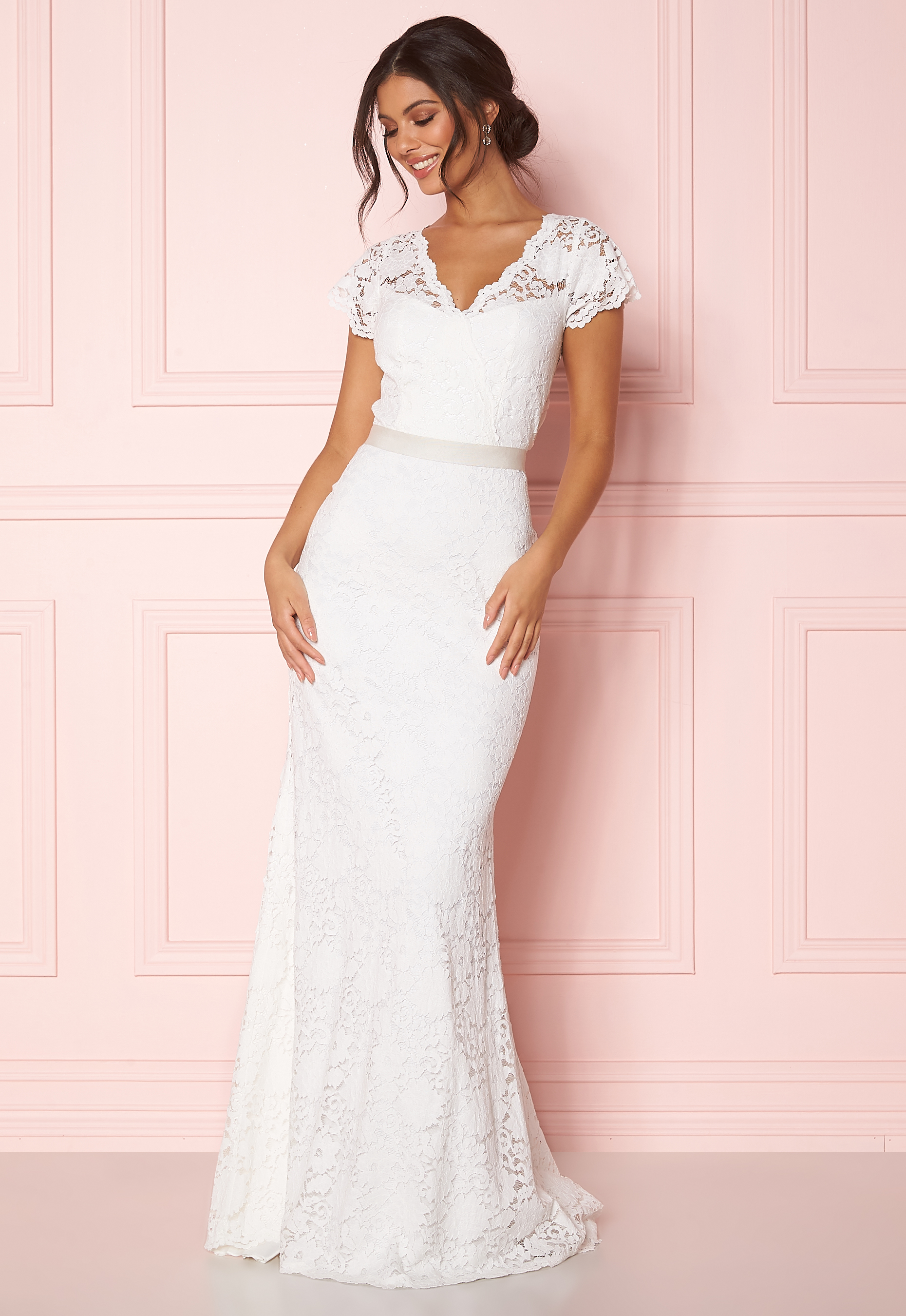 12aaa75d624c Zetterberg Couture Ashley Dress Ivory - Bubbleroom