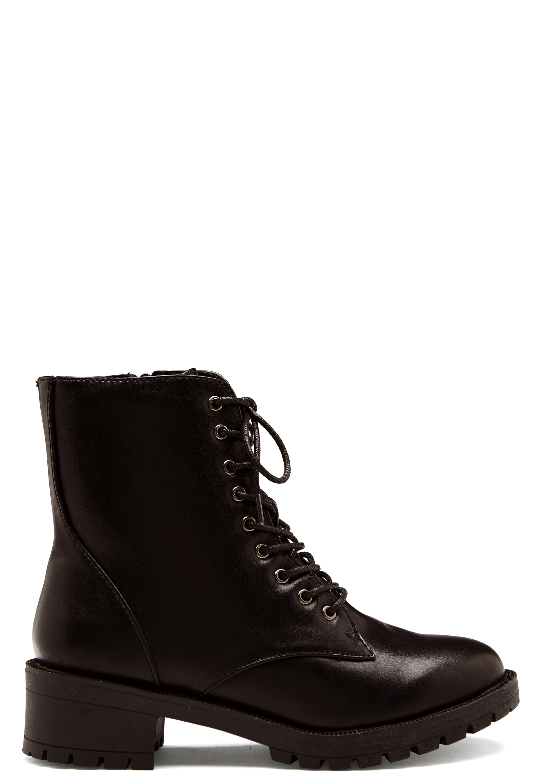 bianco claire laced up boots black 2