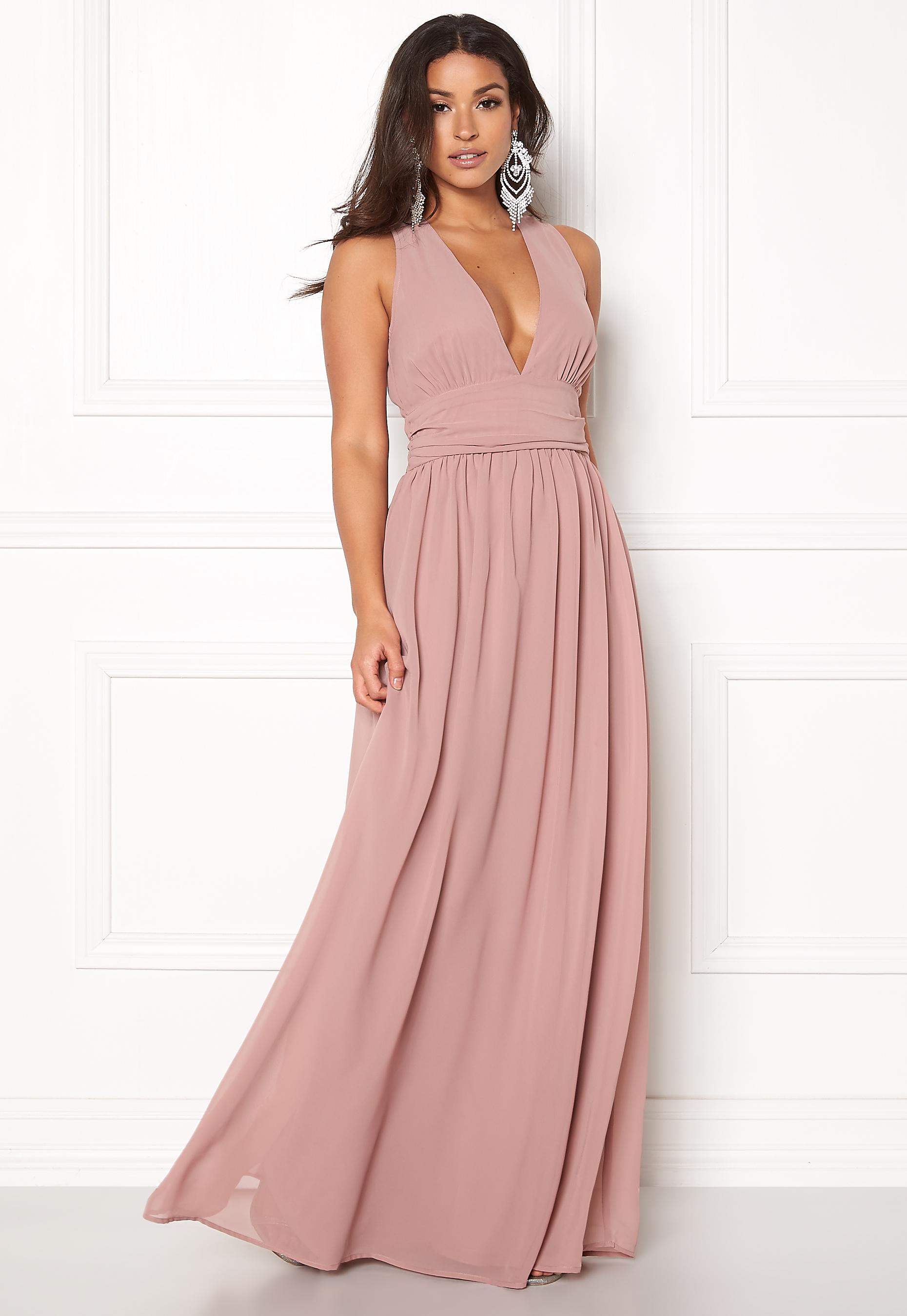 a99299c40f69 BUBBLEROOM Hampton dress Dusty lilac - Bubbleroom