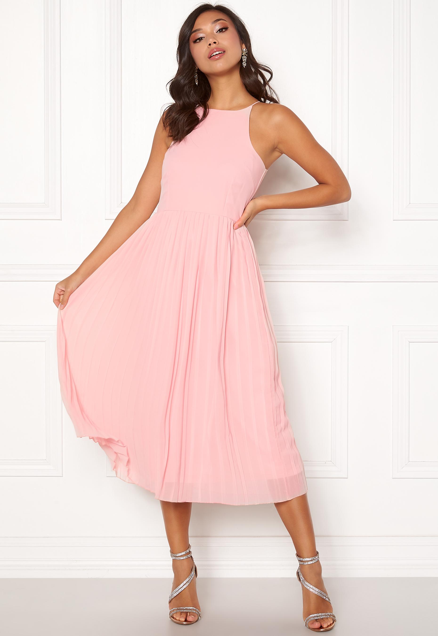 Bubbleroom Poppy Dress Dusty Pink