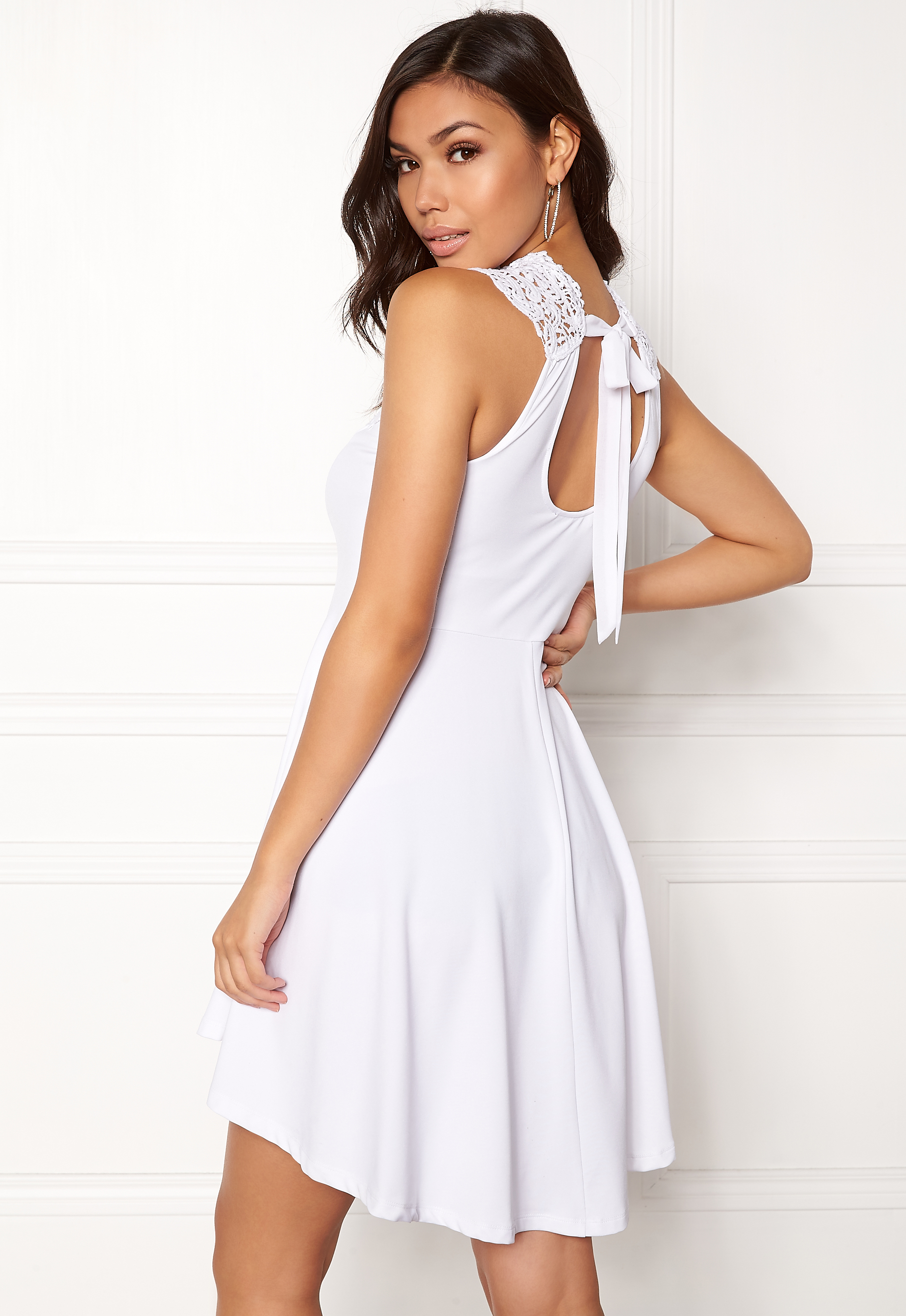 BUBBLEROOM Tamale dress White Bubbleroom