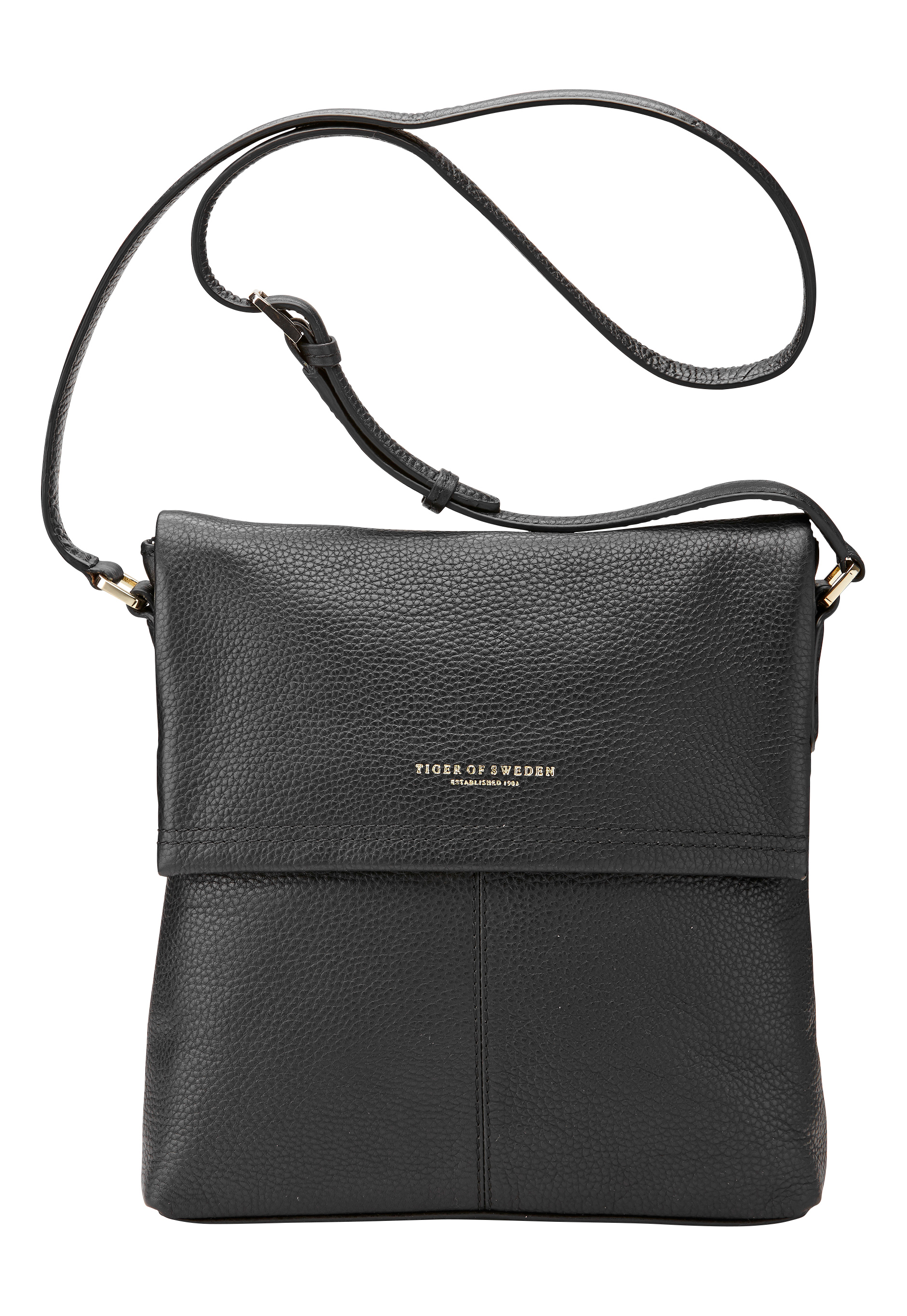 TIGER OF SWEDEN Calbella Leather Bag 050 Black Bubbleroom