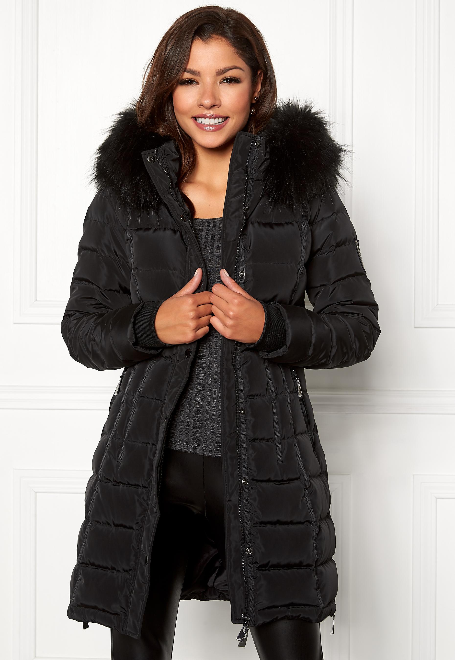 Chiara Forthi Champoluc Down Jacket Black - Bubbleroom ddc8cb83efed1