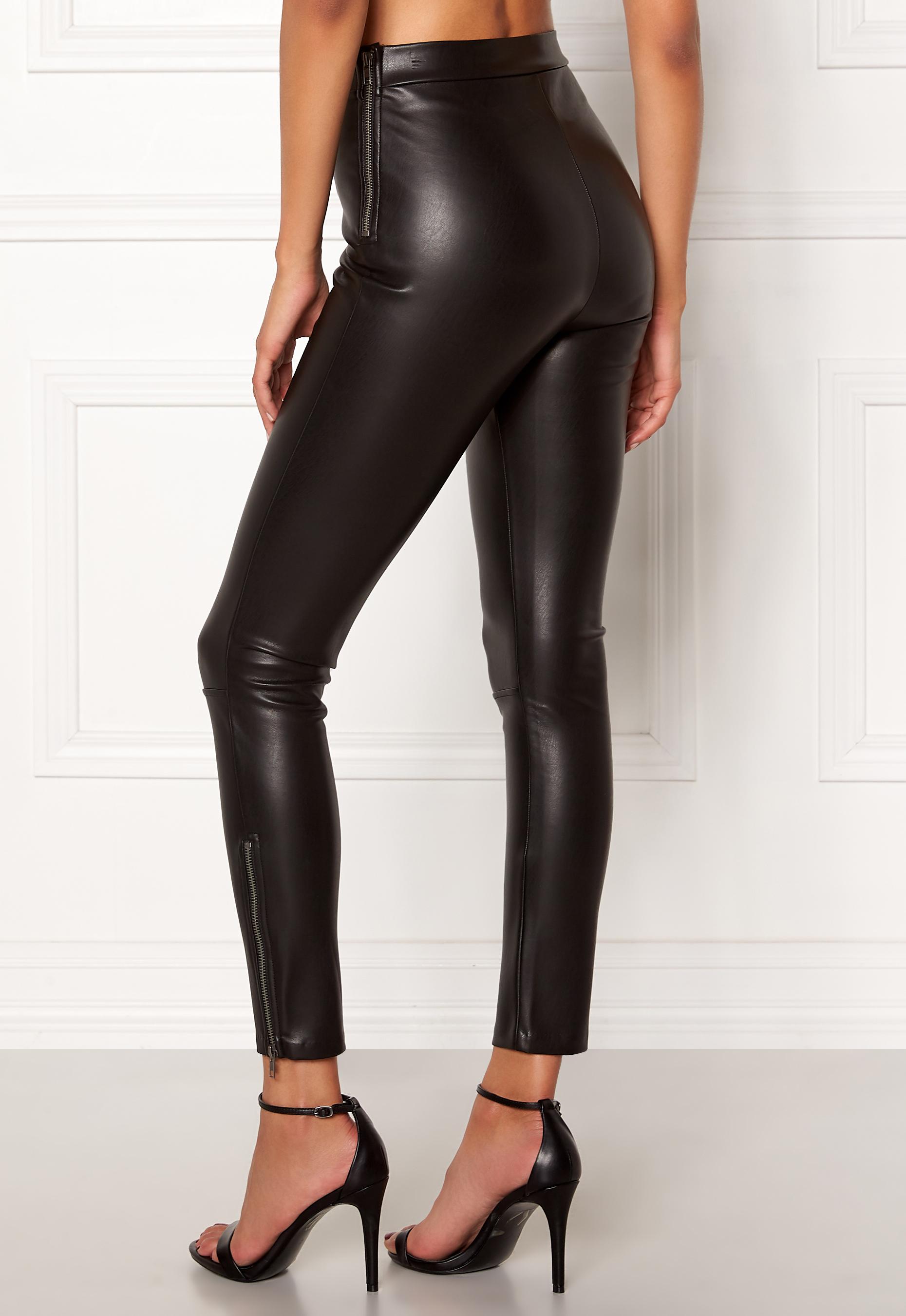 Chiara Forthi Jazzy trousers Black - Bubbleroom 539bddf15e926