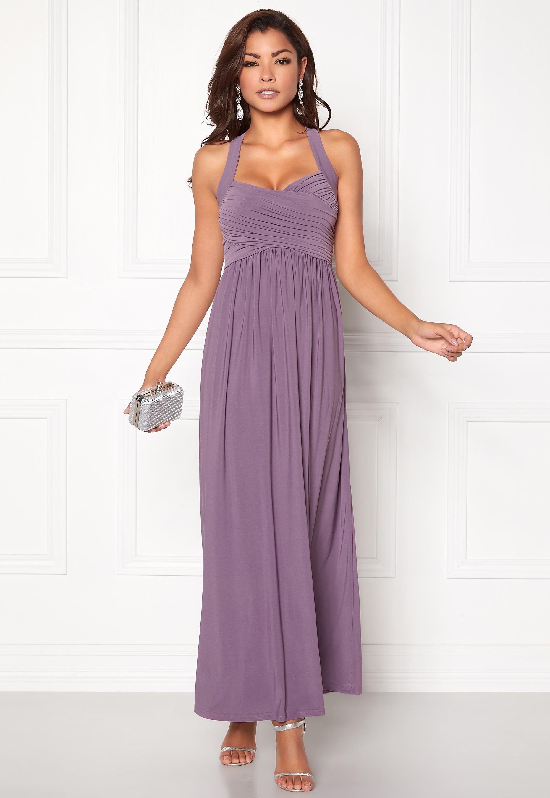 3dcb2fa3ffc6 Chiara Forthi Rochelle Maxi Dress Dusty lilac - Bubbleroom
