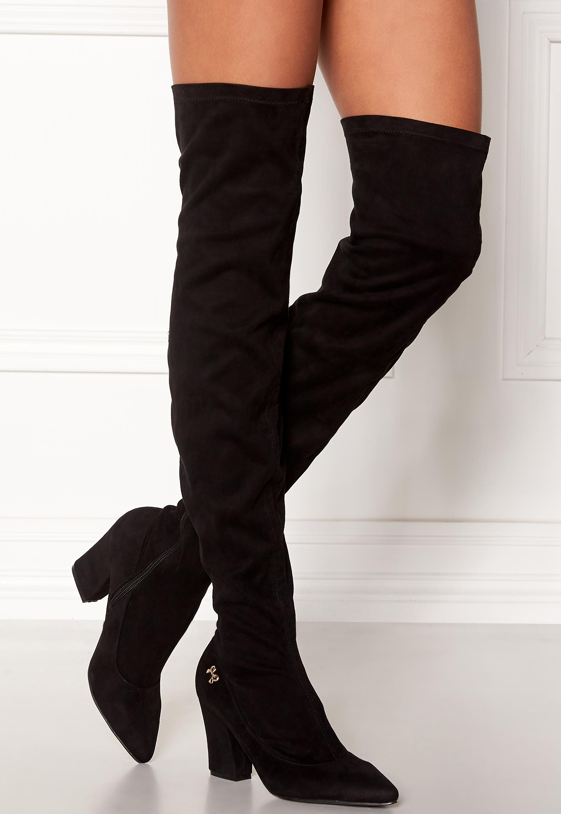 Chiara Forthi Roma overknee boots Black Bubbleroom