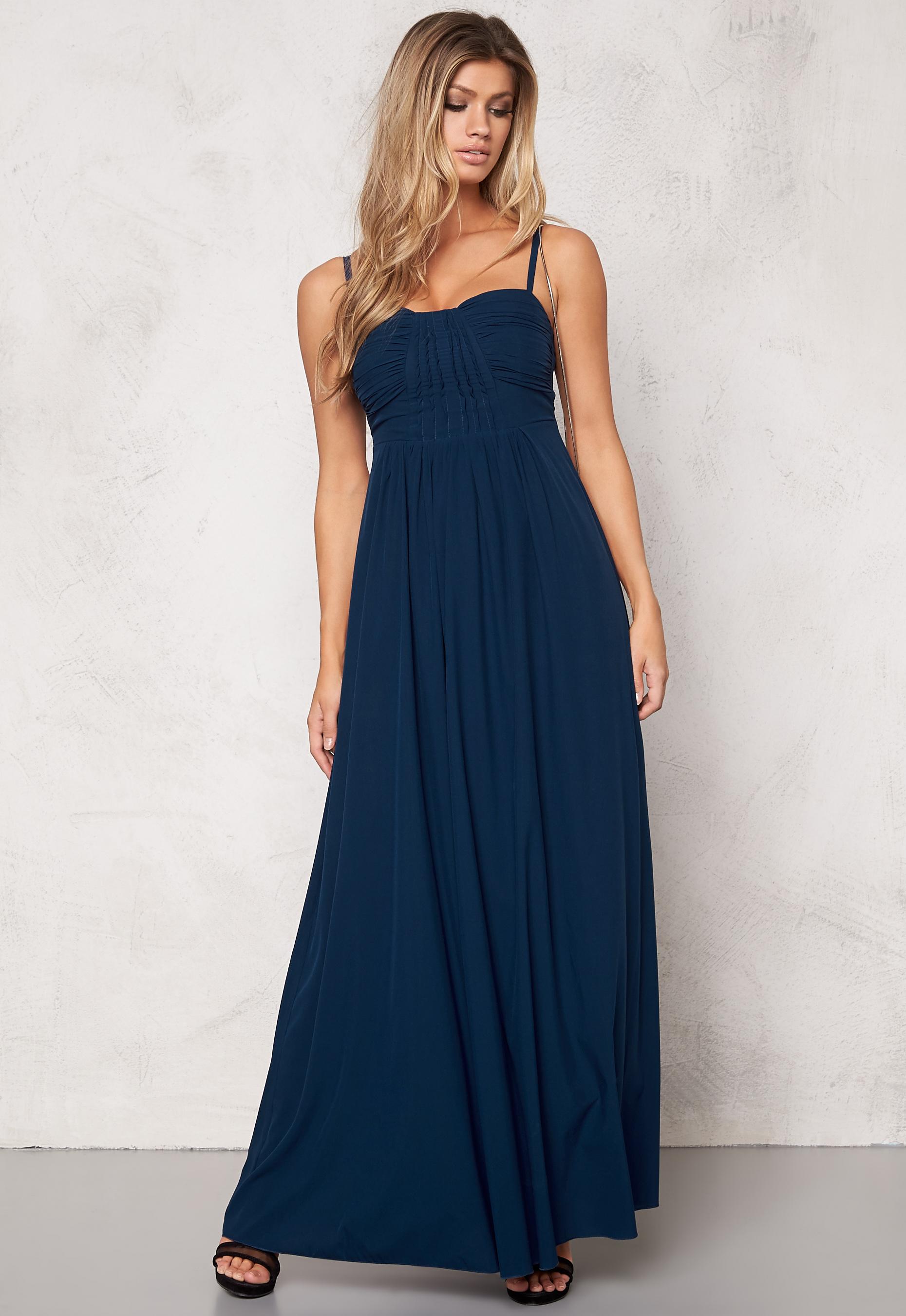 olika design stort urval billigaste priset Chiara Forthi Soleil Dress Blue - Bubbleroom