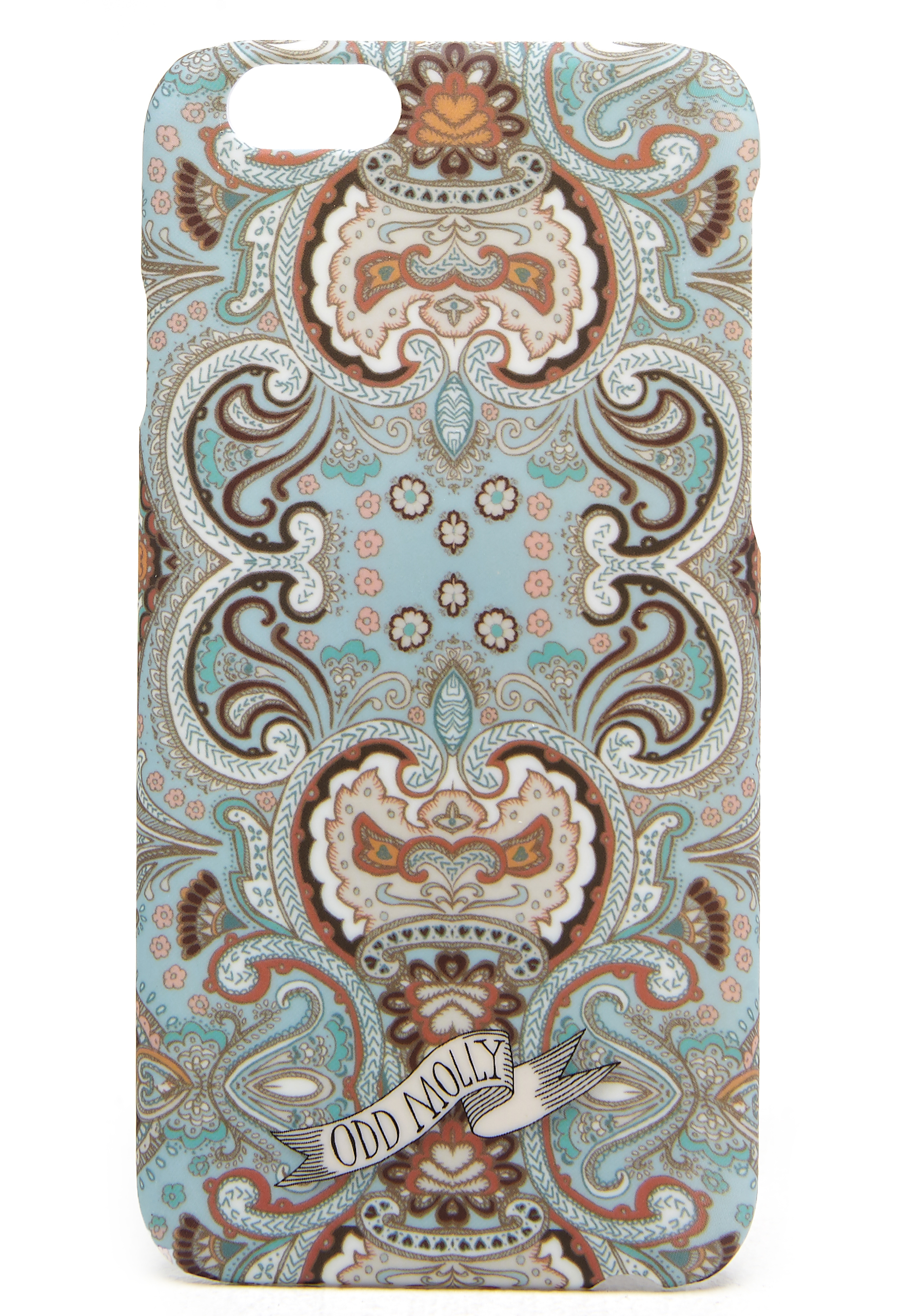 Odd Molly Cover up mobile case Light turquoise - Bubbleroom