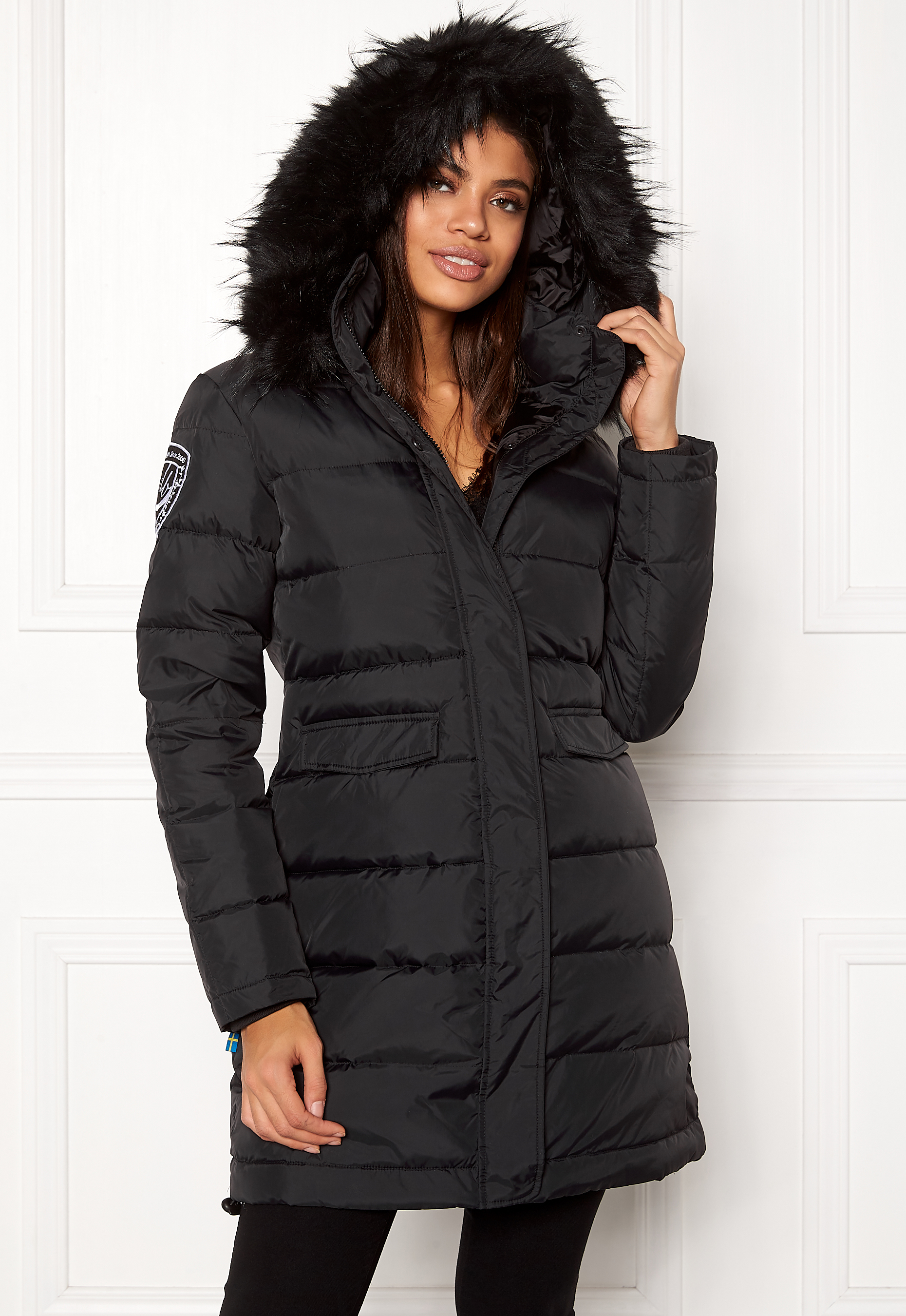 D.Brand Eskimå Jacket BlackBlack Bubbleroom