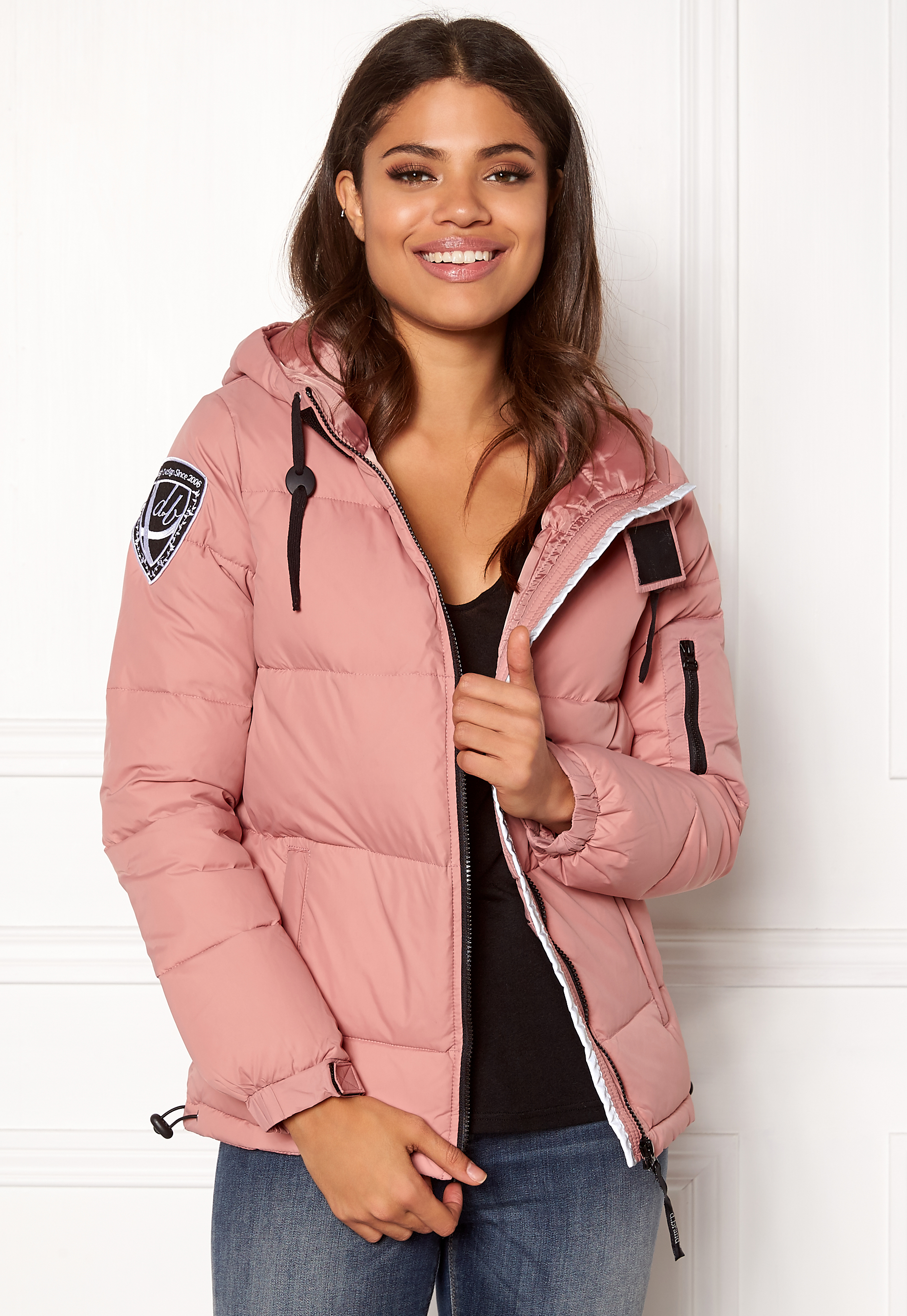 D.Brand Eskimå Jacket Dusty Pink Bubbleroom