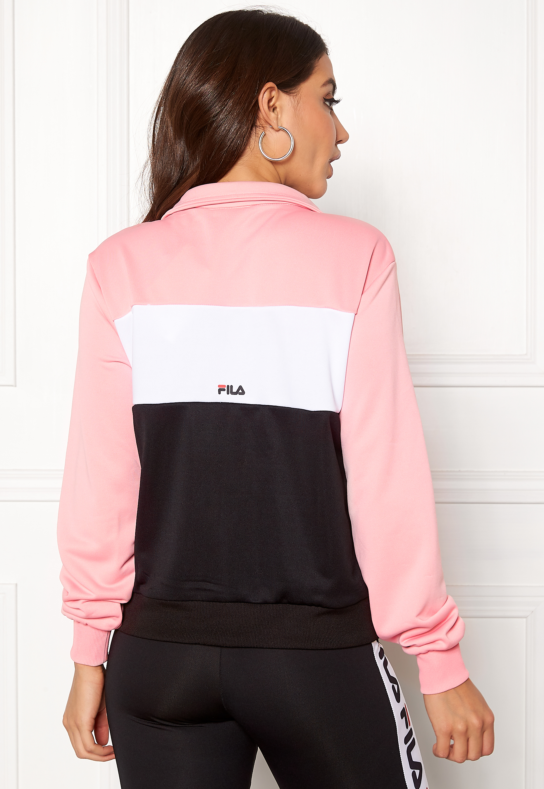 FILA Bronte Track Jacket Coral Blush Bubbleroom