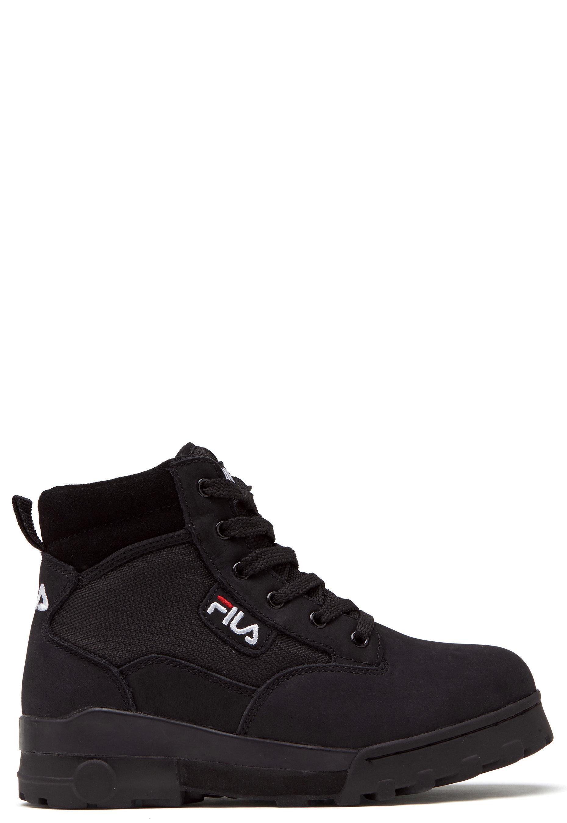 FILA Grunge Mid Wmn Boots Black Bubbleroom