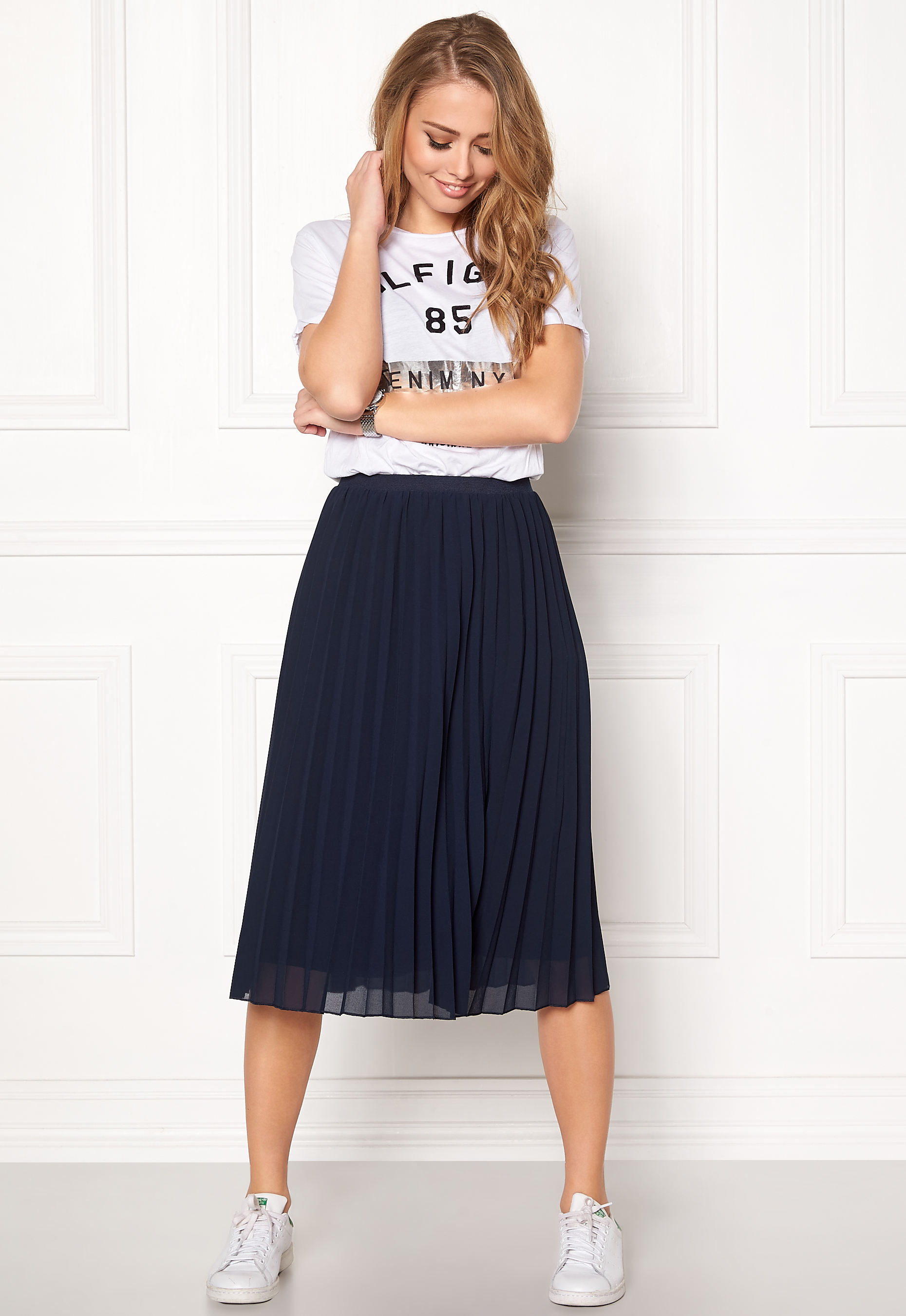 Happy Holly Diana skirt Dark navy - Bubbleroom 48abd1ca81e49