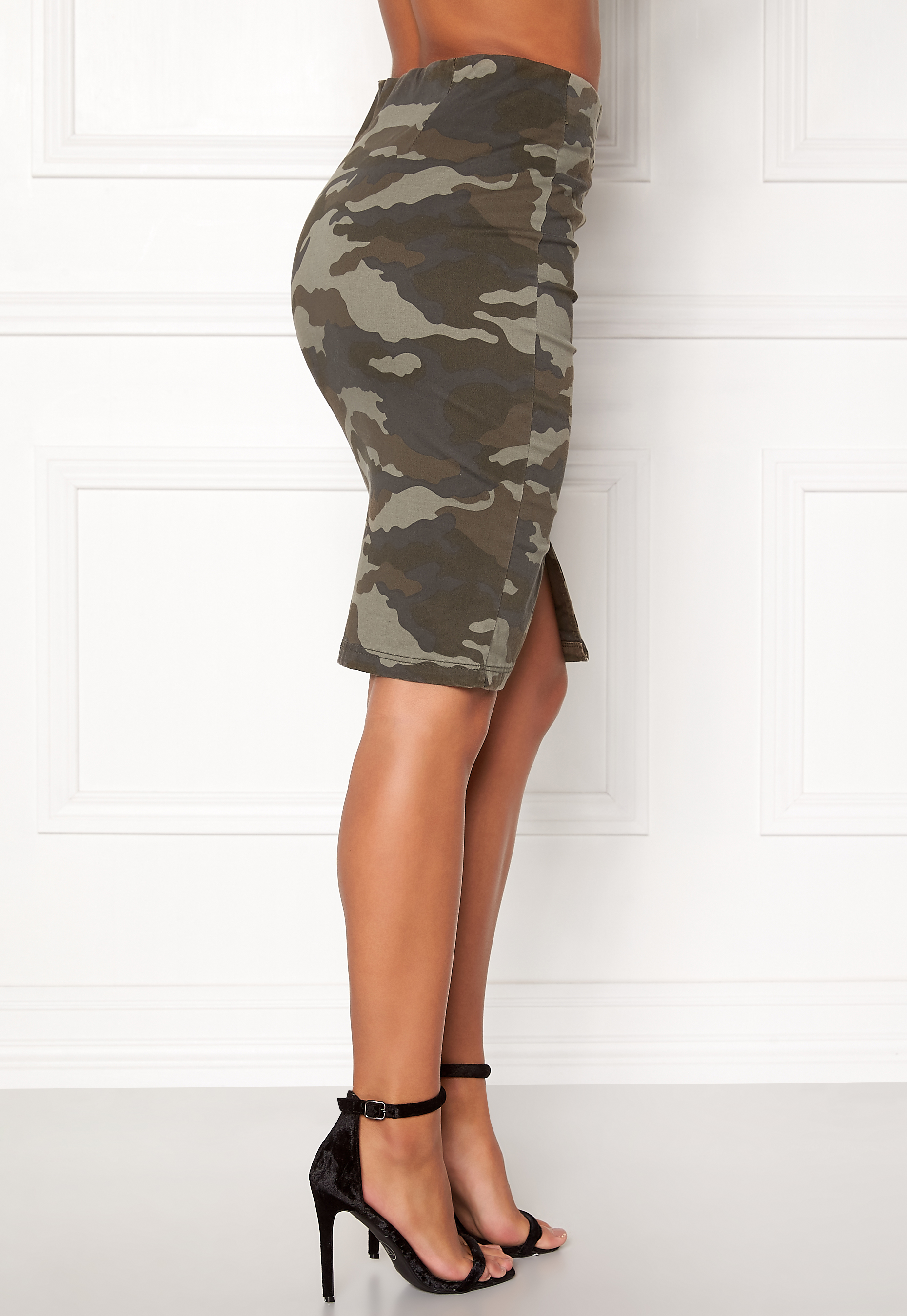 a96a9318f545 Happy Holly Laila skirt Camouflage - Bubbleroom