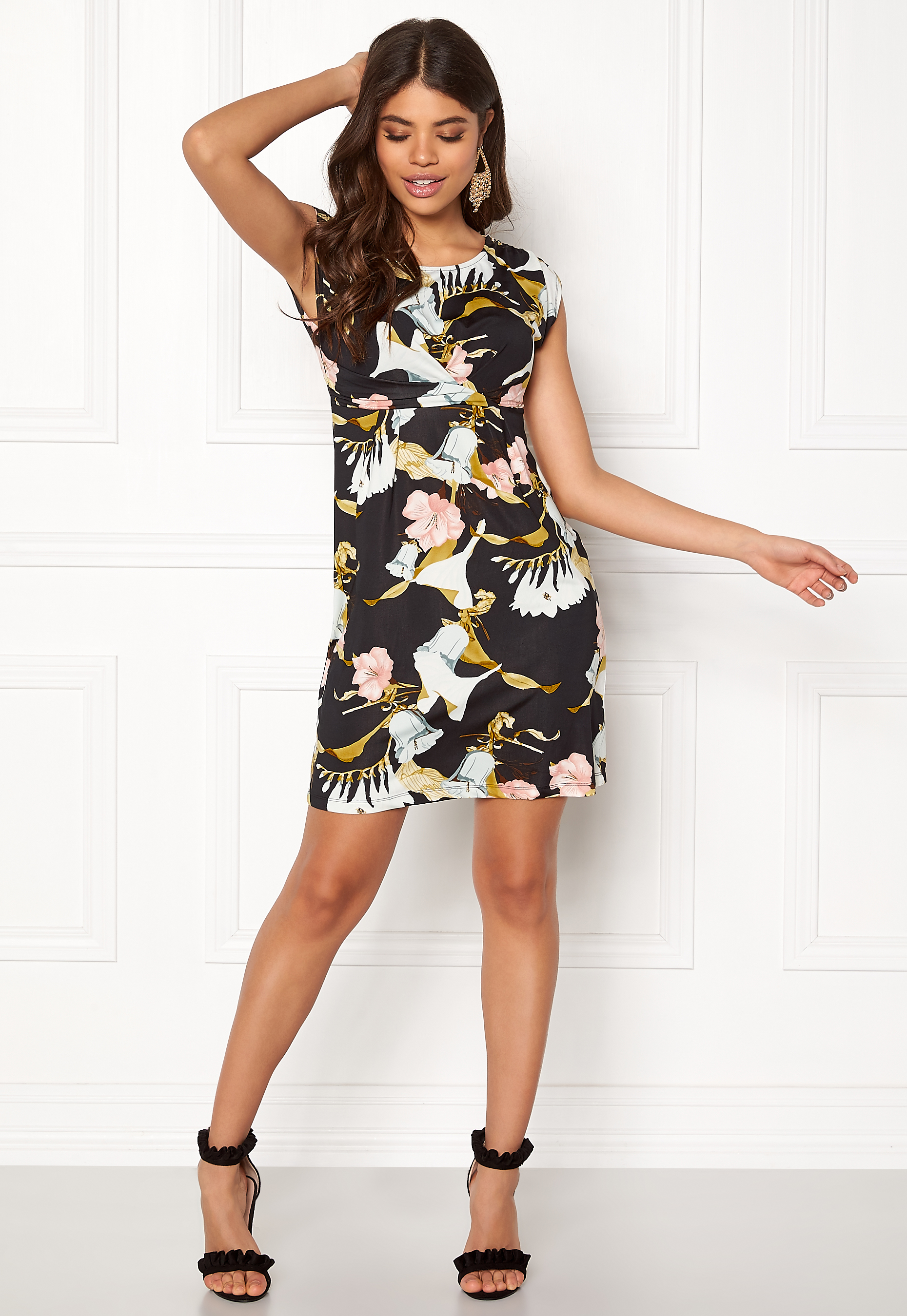 Happy Holly Nora dress Patterned - Bubbleroom 3f863202dc188