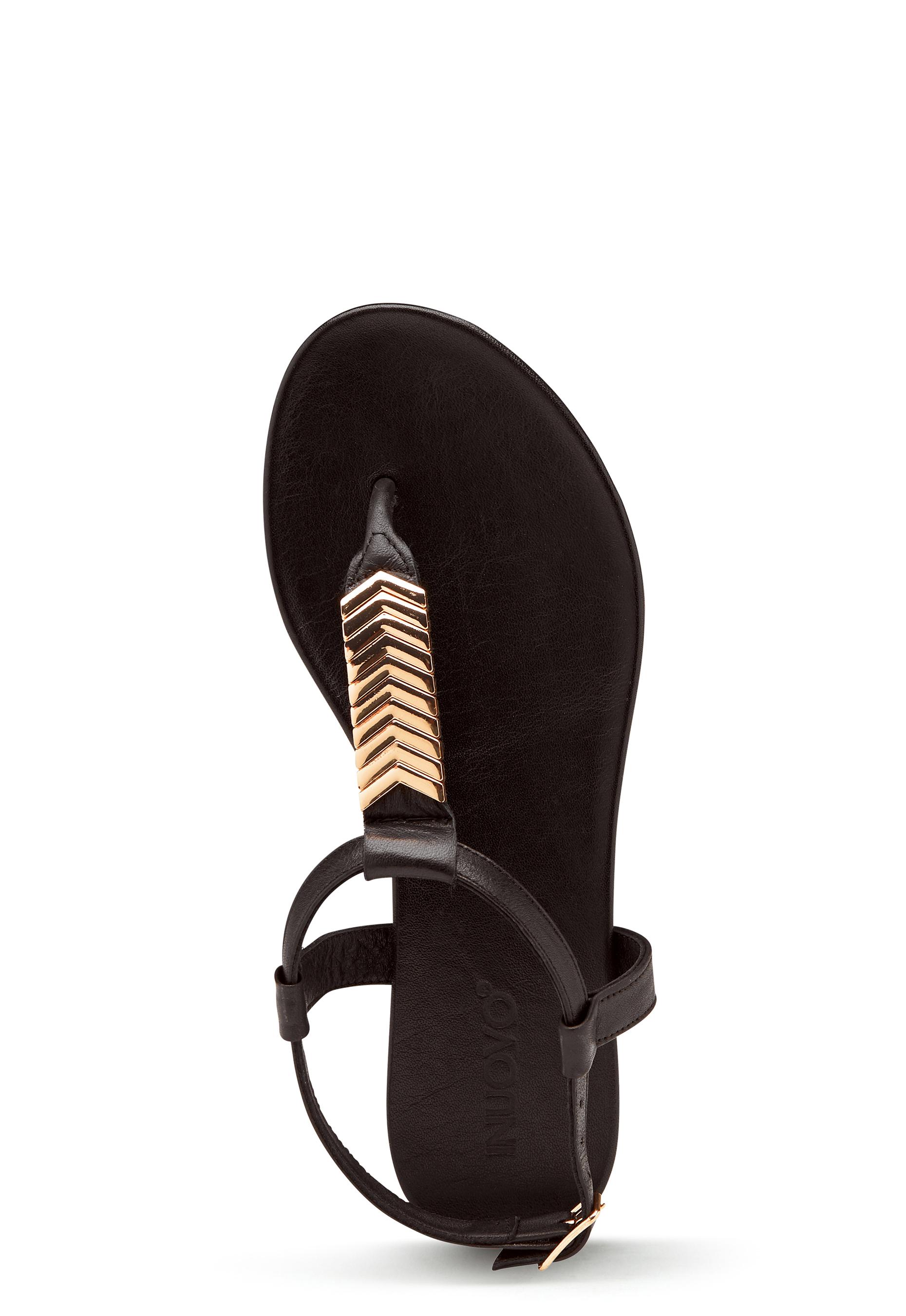INUOVO 101029 Sandals Black Bubbleroom
