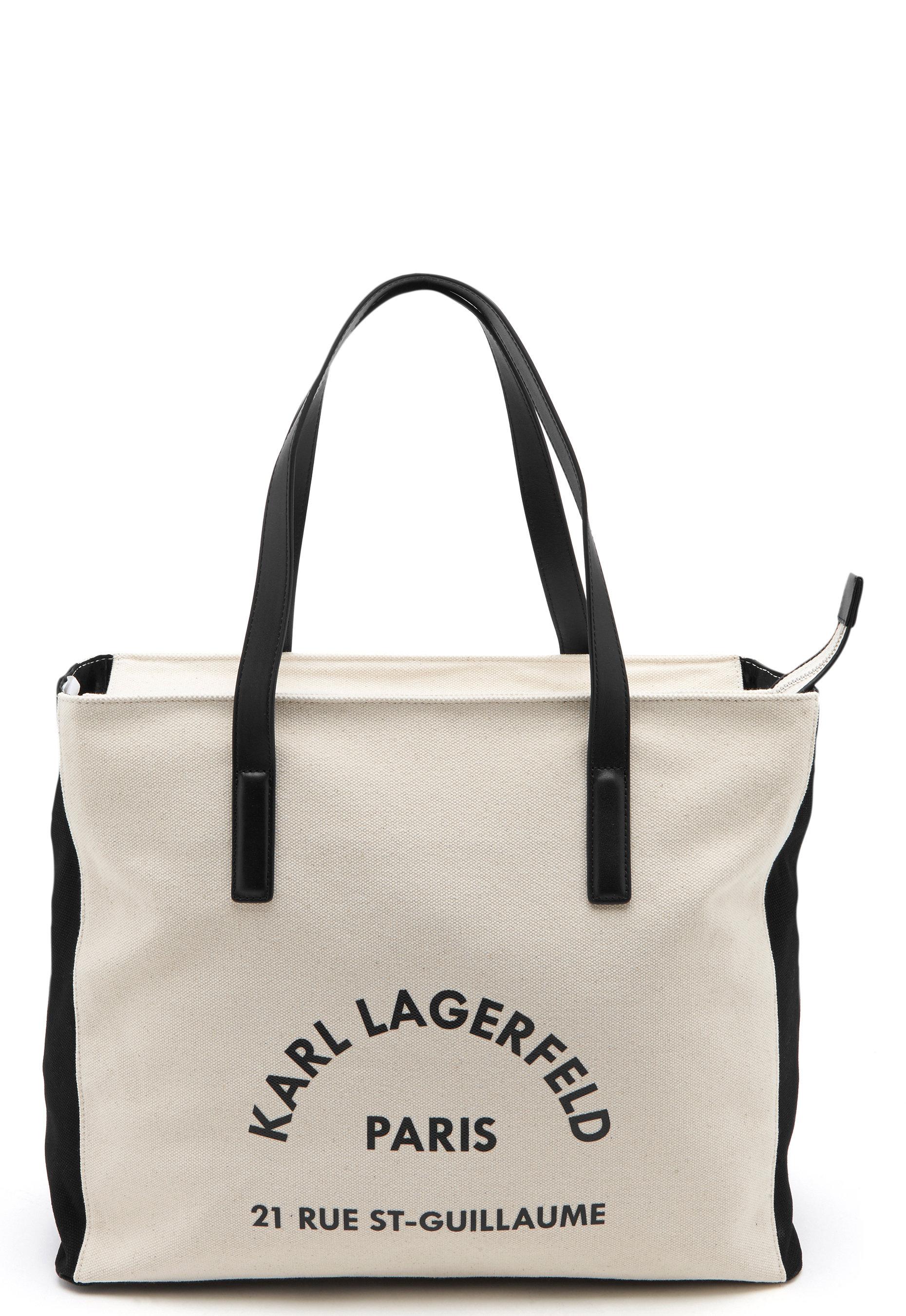 Karl Lagerfeld Rue Lagerfeld Beachbag Natural Bubbleroom