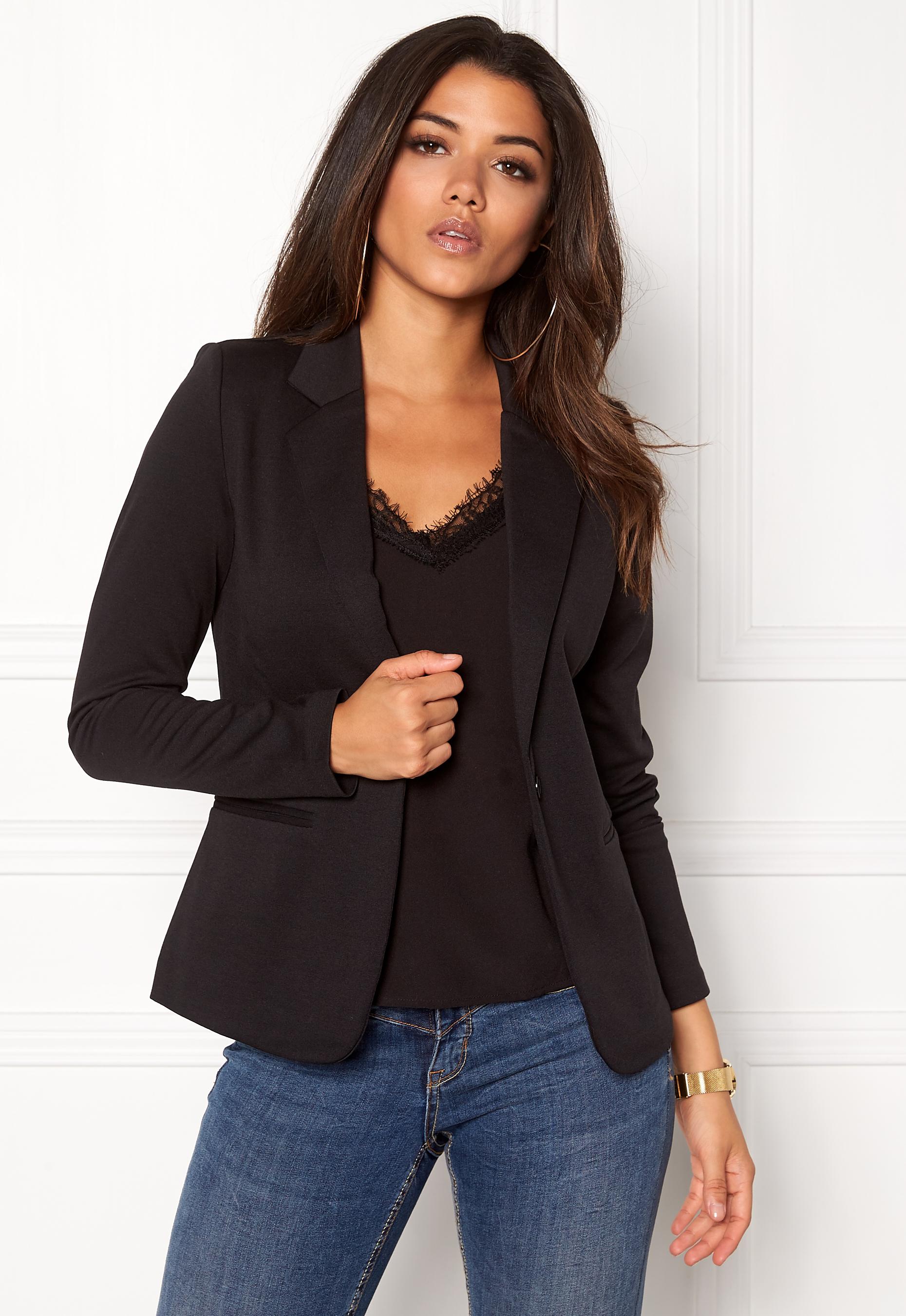 ICHI Kate Suit Jacket Black Bubbleroom.se 811fe466a99ea