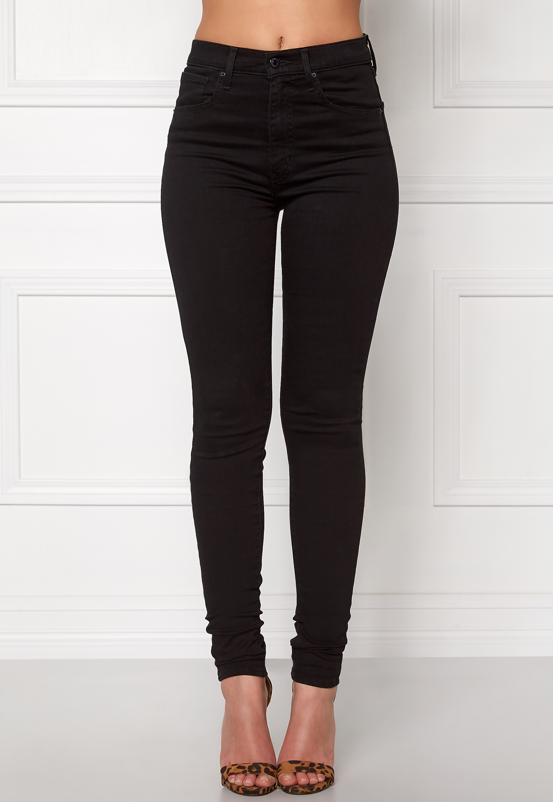 LEVI'S Mile High Super Skinny Black Cove