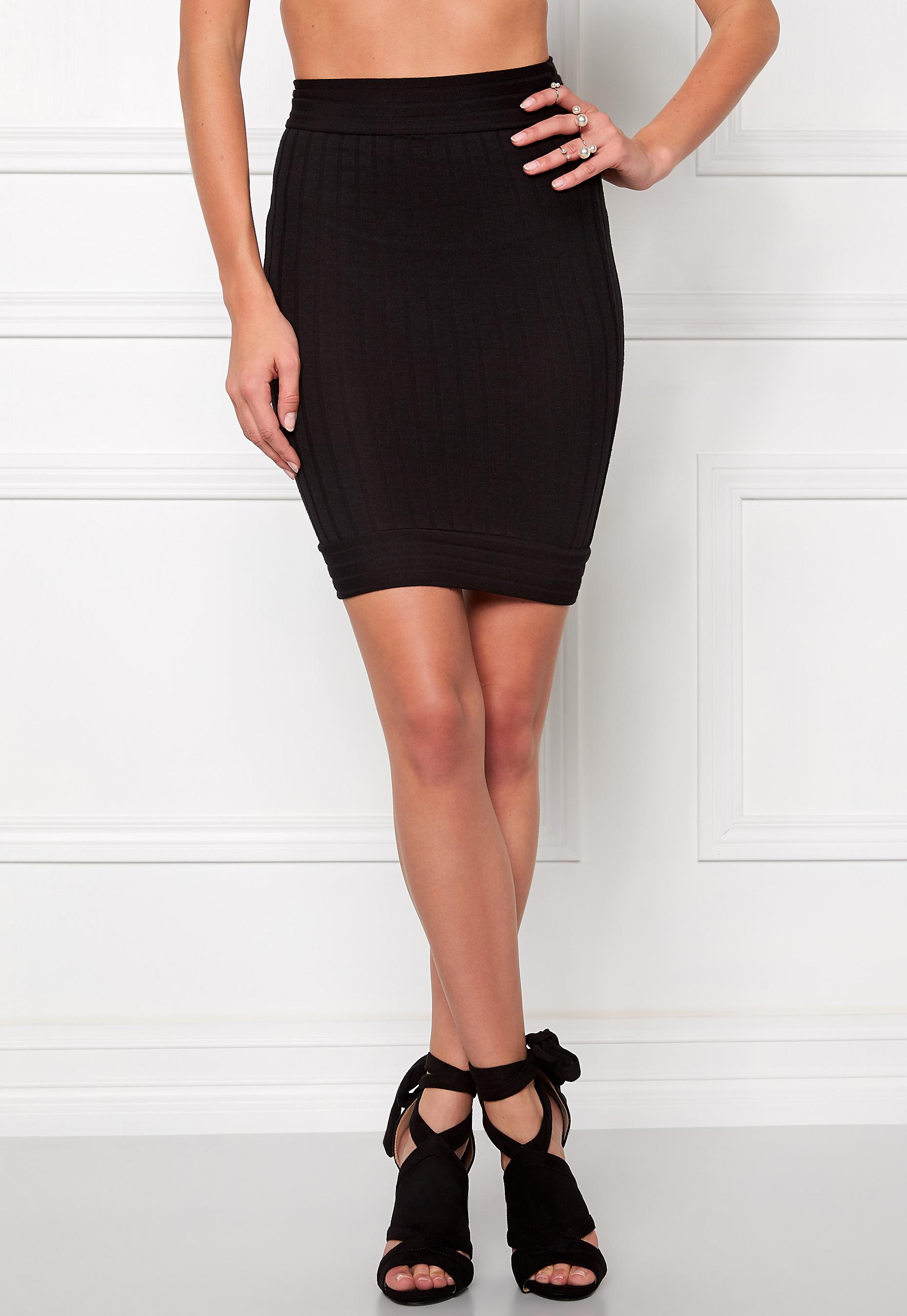 Make Way Ruby Skirt Black - Bubbleroom bf0c23802cdfb