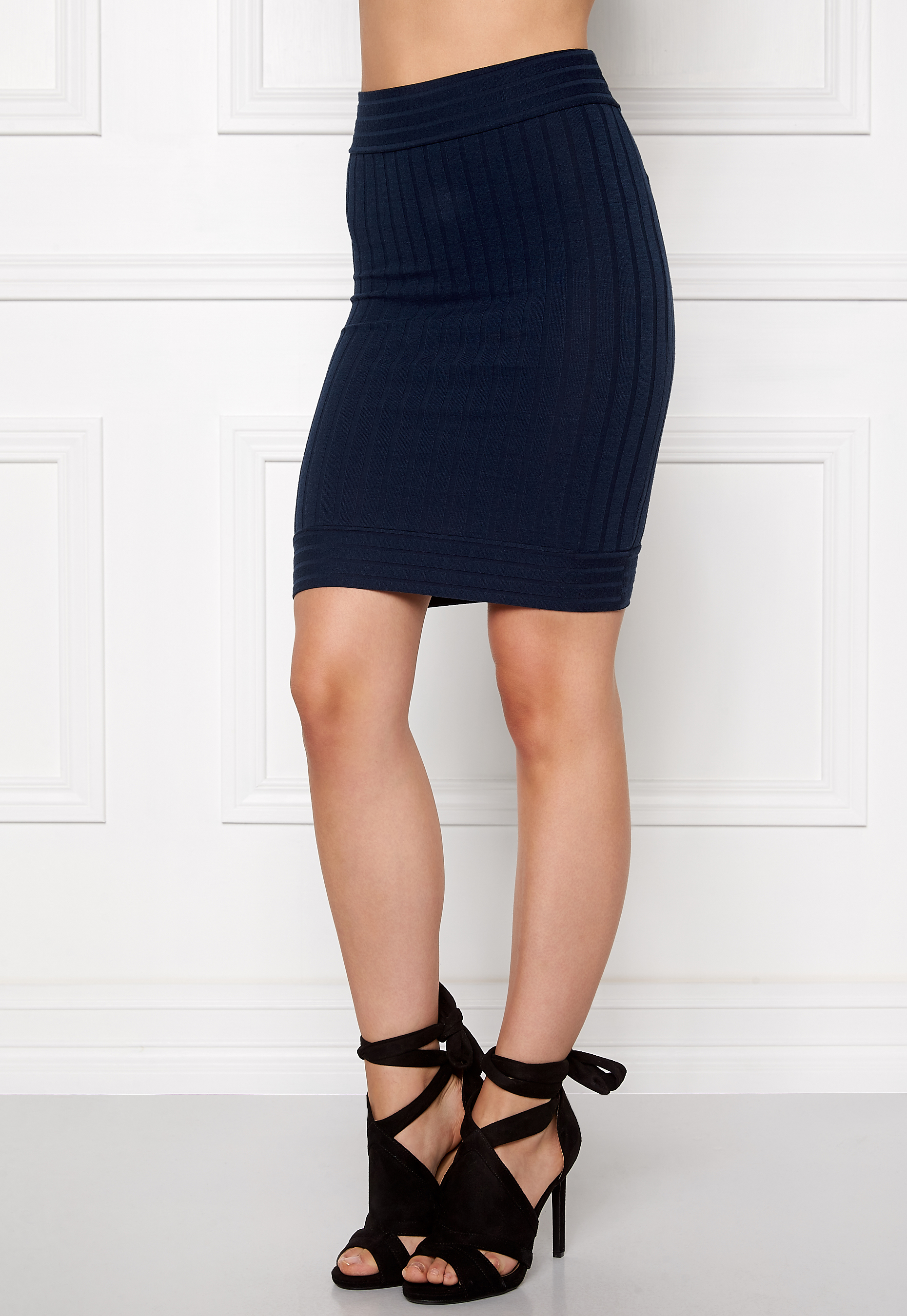 Make Way Ruby Skirt Midnight blue - Bubbleroom 4347da91c377a