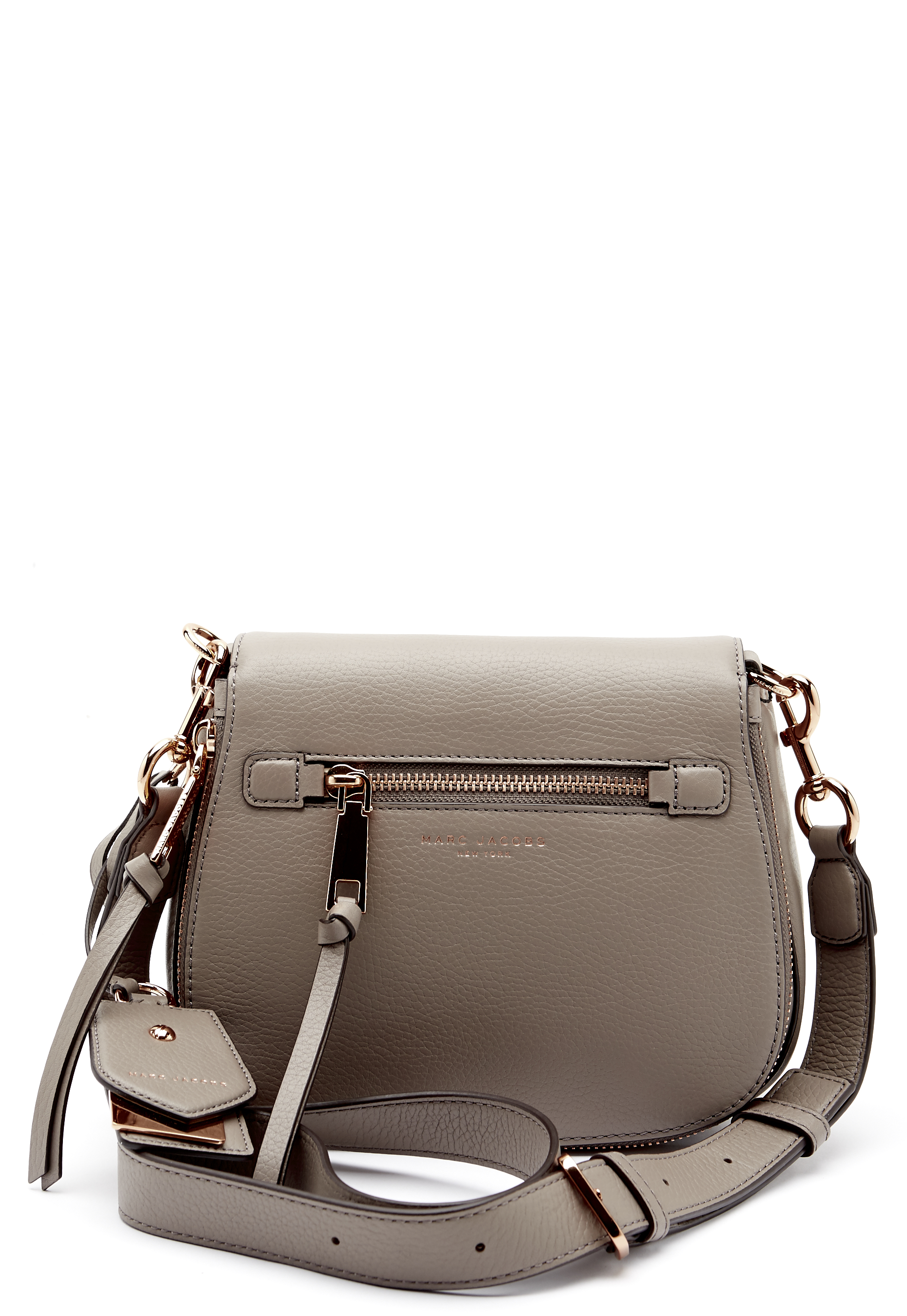 The Marc Jacobs Small Nomad Crossbody Bag Mink Bubbleroom