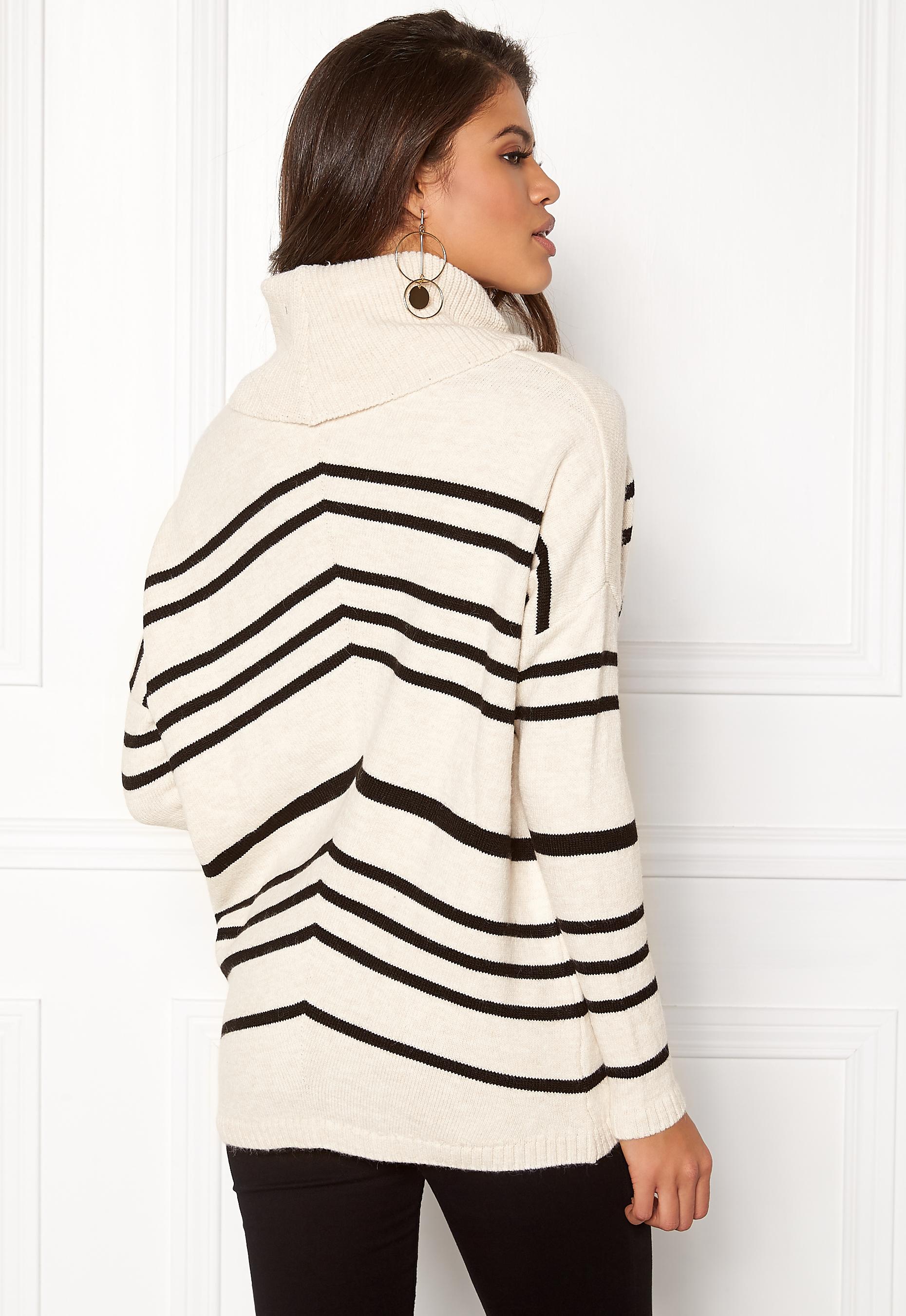 object silli l s knit pullover gardenia bubbleroom. Black Bedroom Furniture Sets. Home Design Ideas