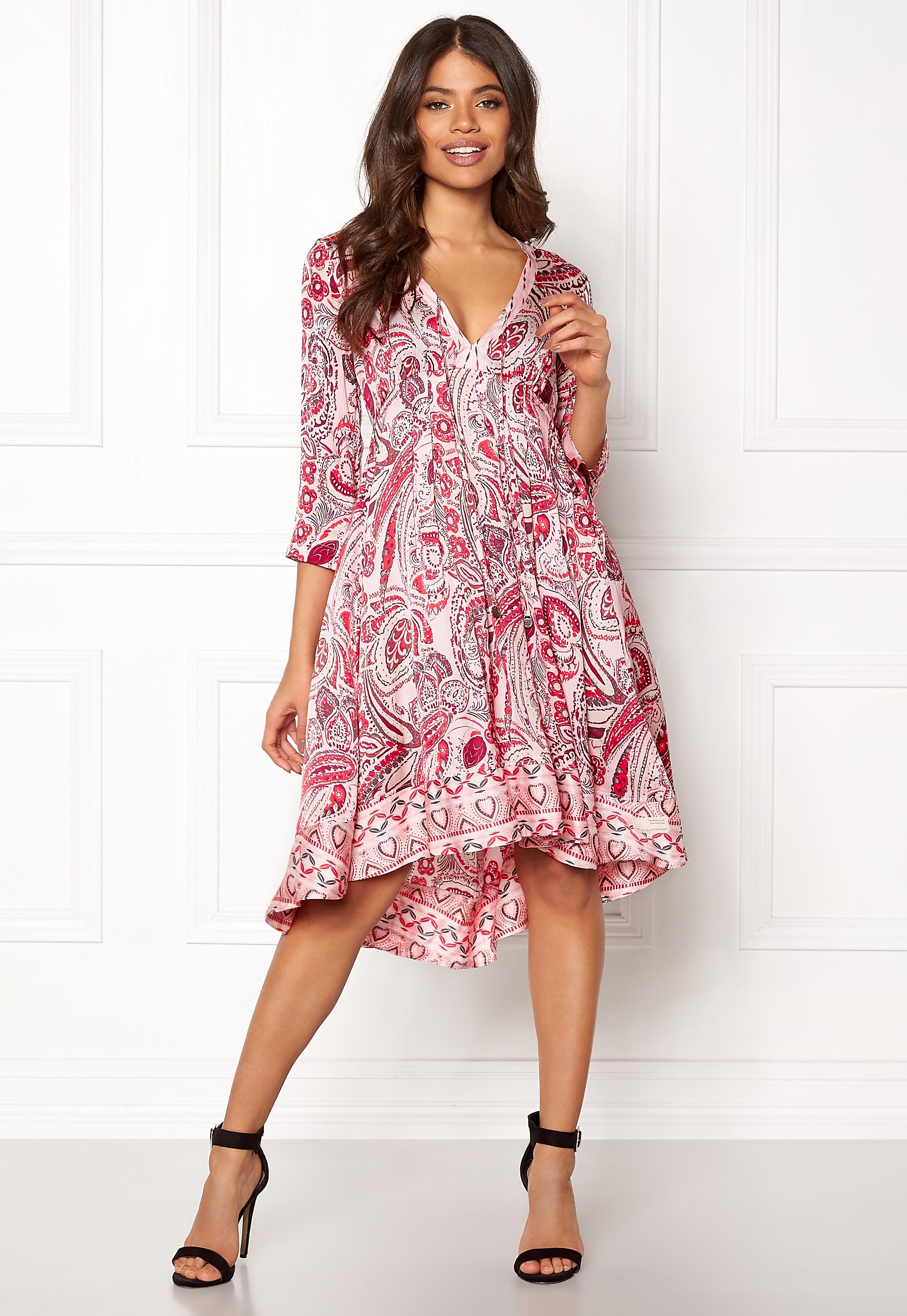Odd Molly Esemble Dress Soft Rose Bubbleroom