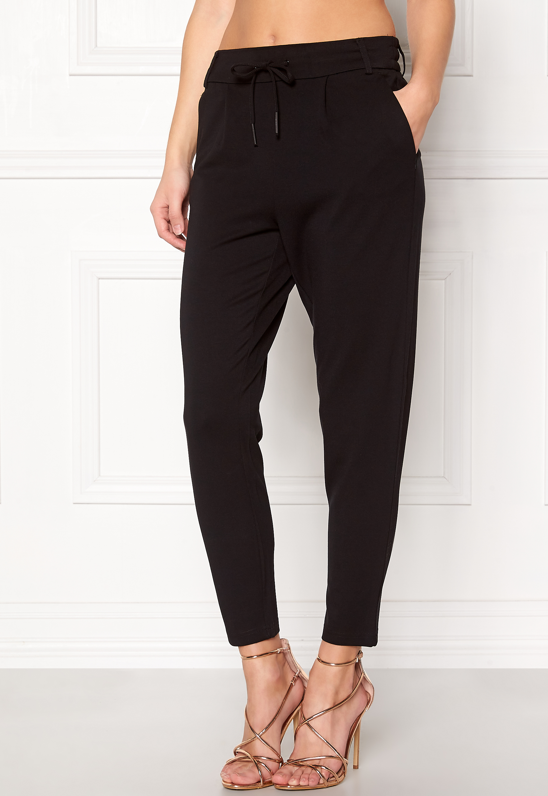ONLY Poptrash Easy Pants Black - Bubbleroom 5ac3d4bfd0a3a