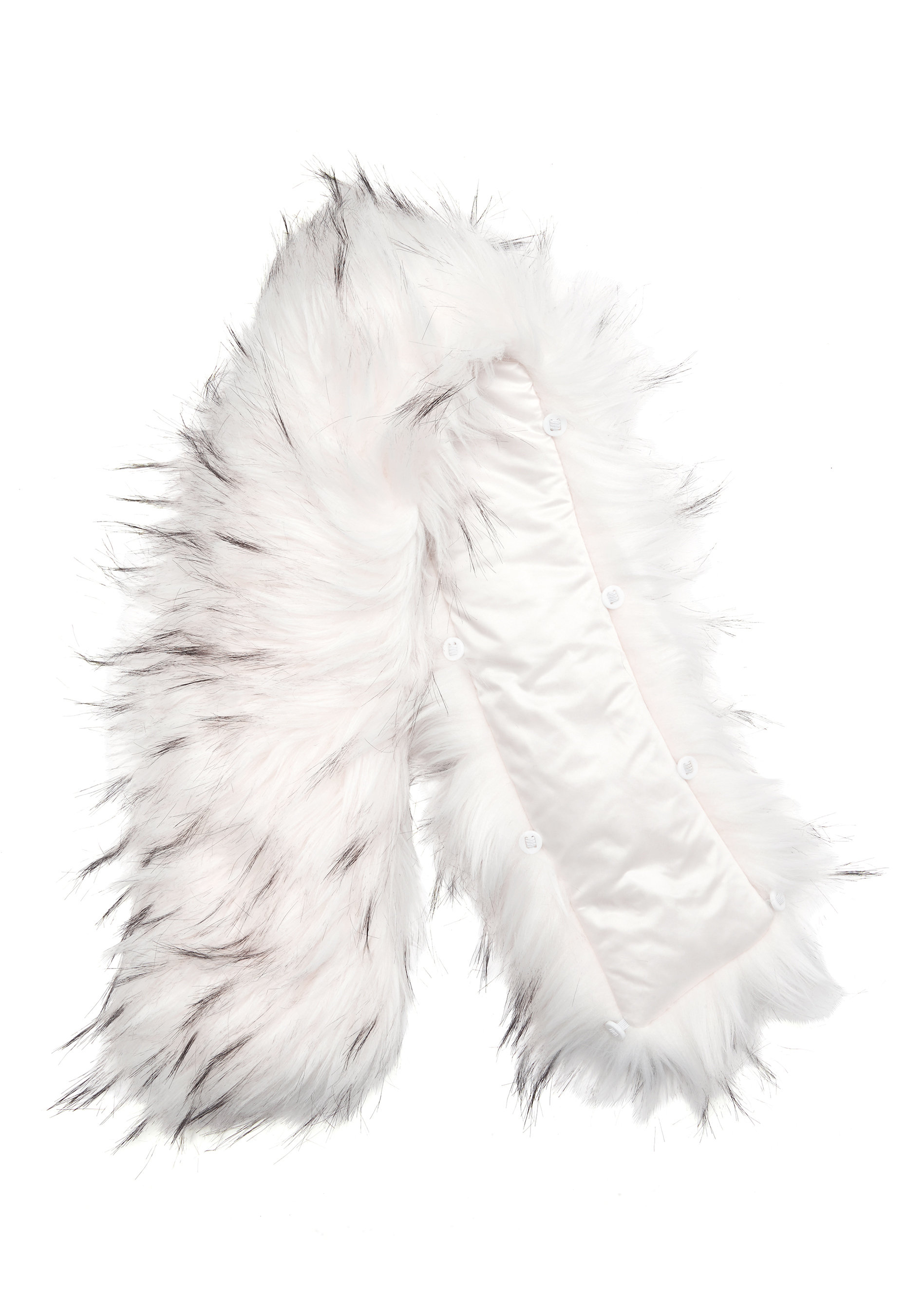 ROCKANDBLUE Faux Fur Trim BlackBleached Bubbleroom