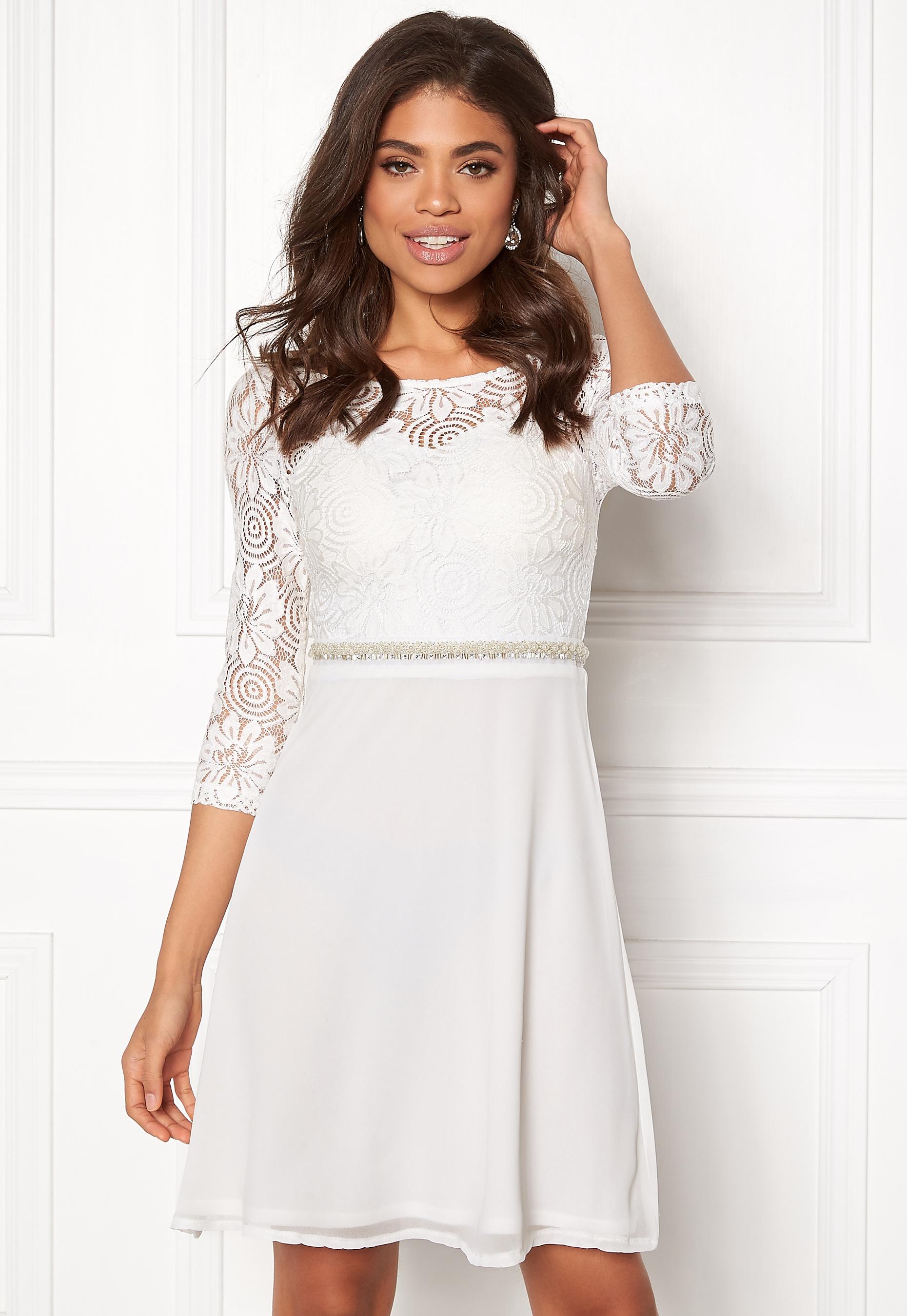 Sisters Point WD-30 LS Dress Cream - Bubbleroom fd0c3cdff16dd