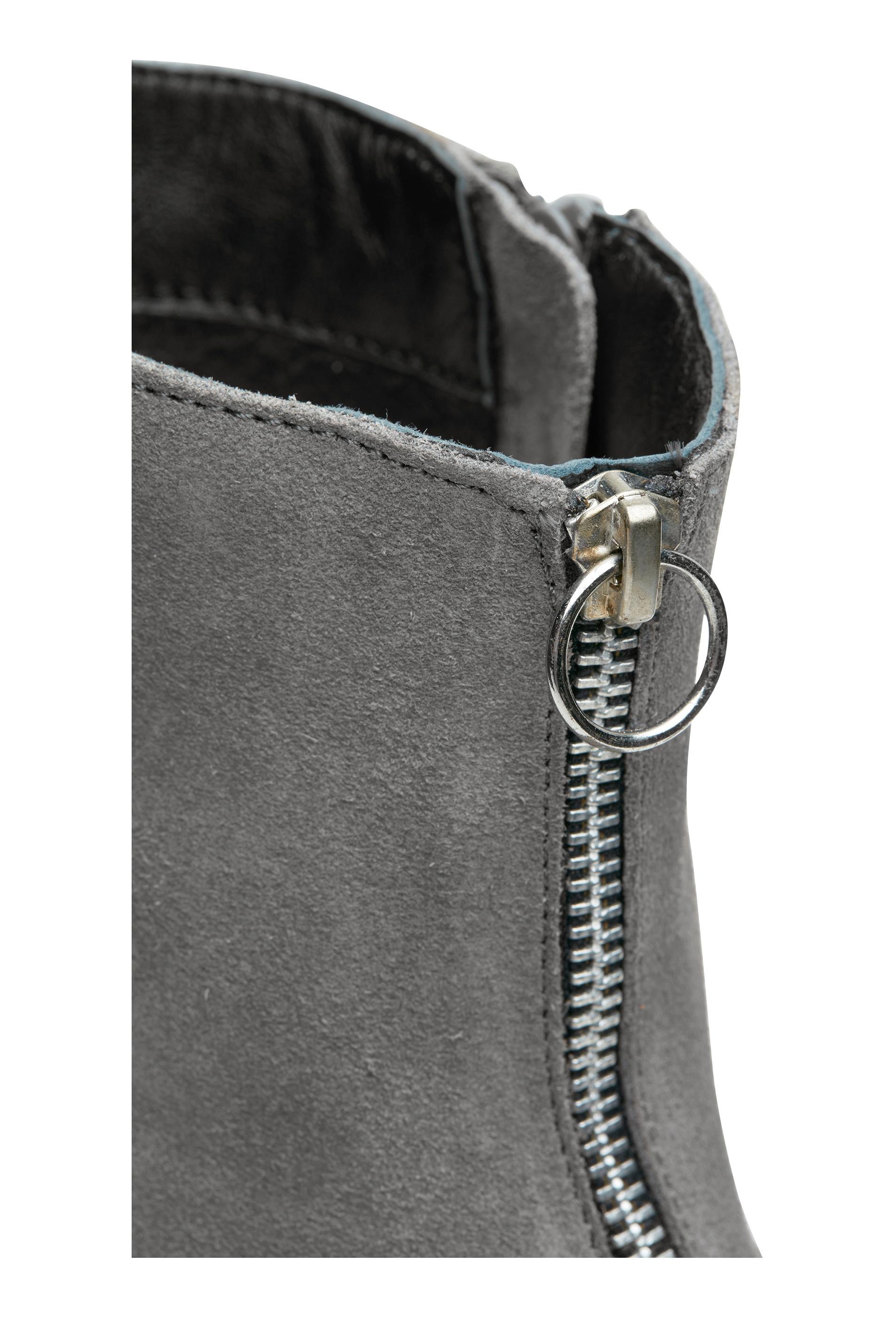 2561300e5aa SOON Karen fashion boot Grey - Bubbleroom