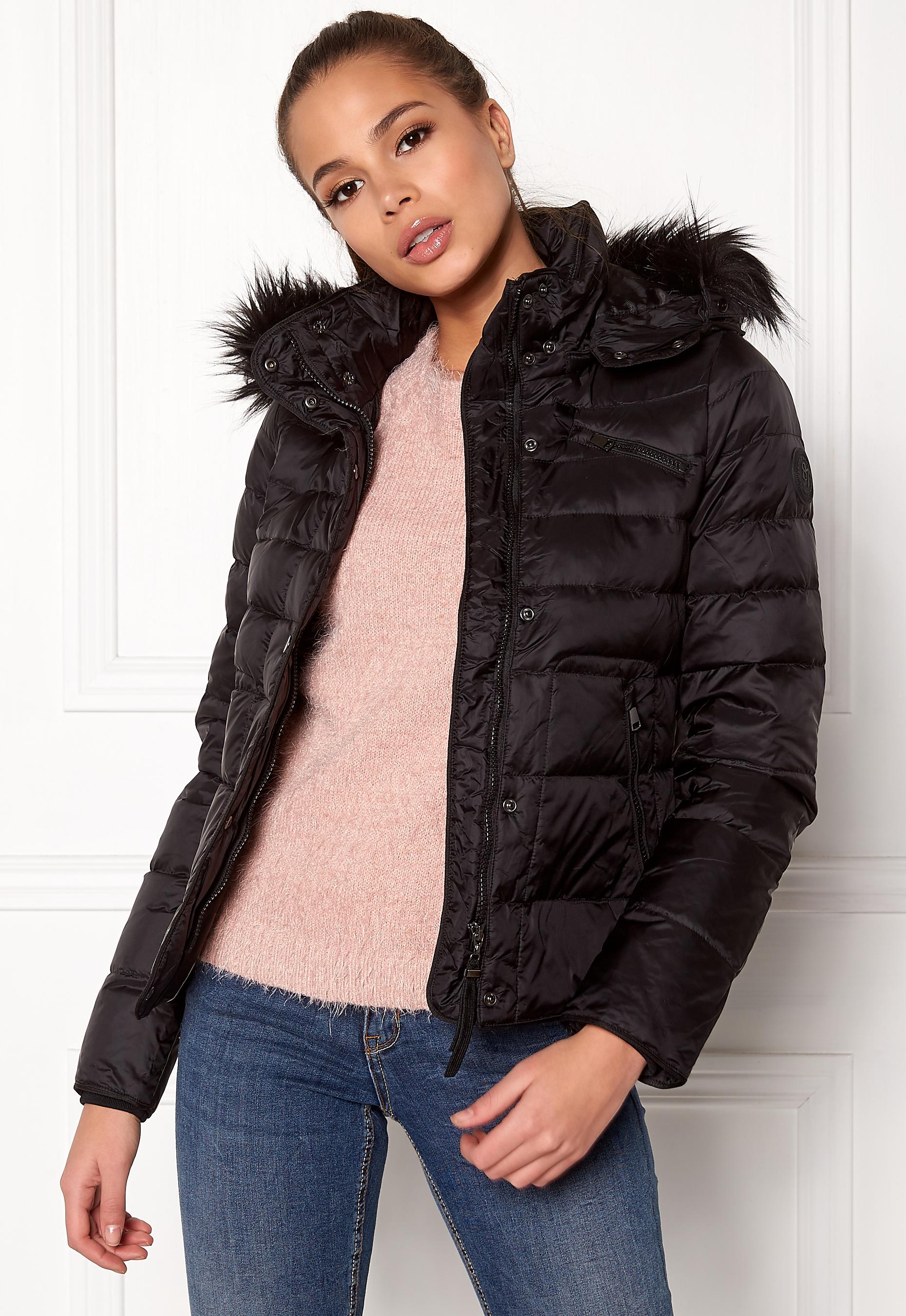 VERO MODA Marga Short Down Jacket Black Beauty - Bubbleroom