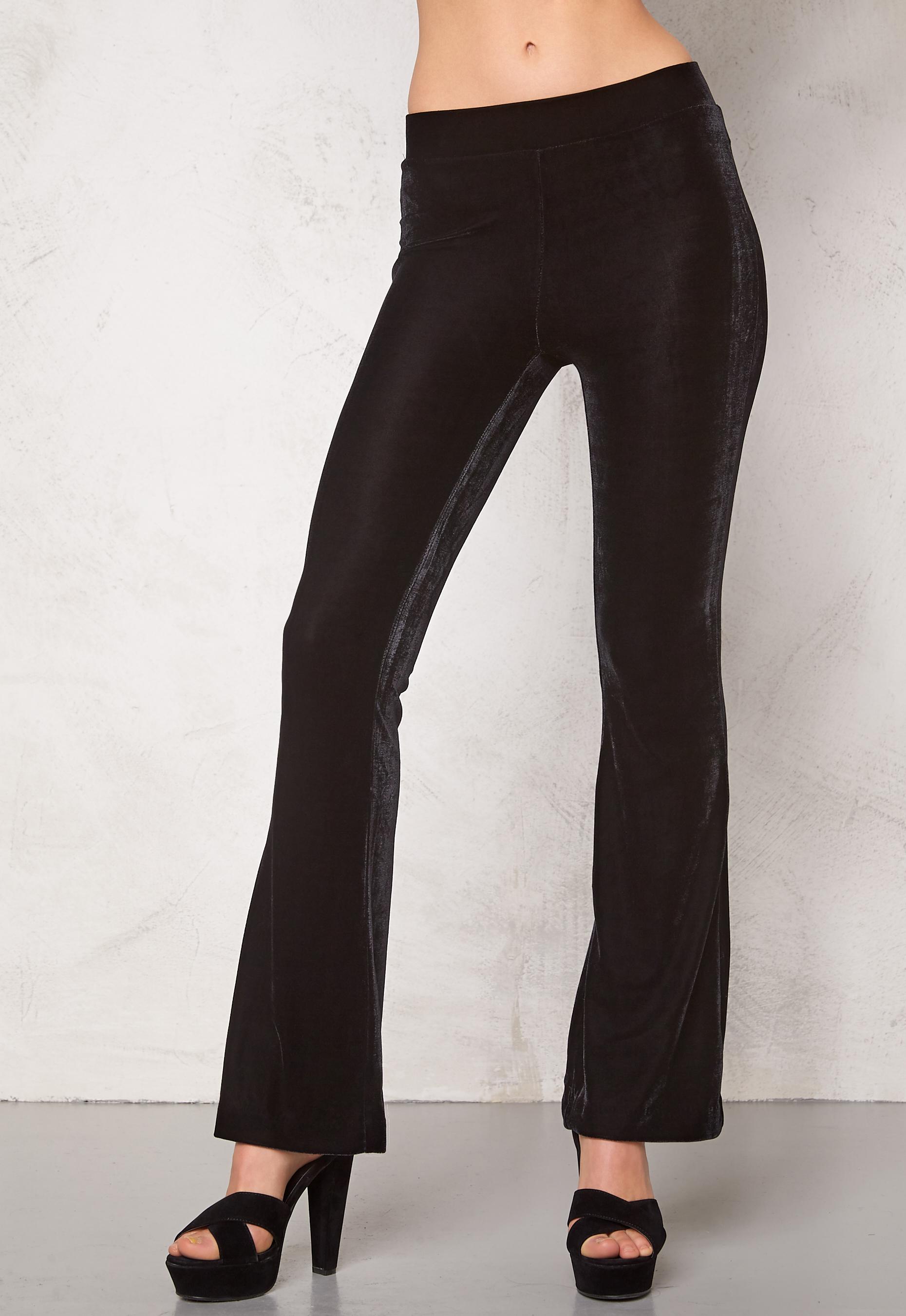VILA Lour Pant Black - Bubbleroom 993e1ac6600f2