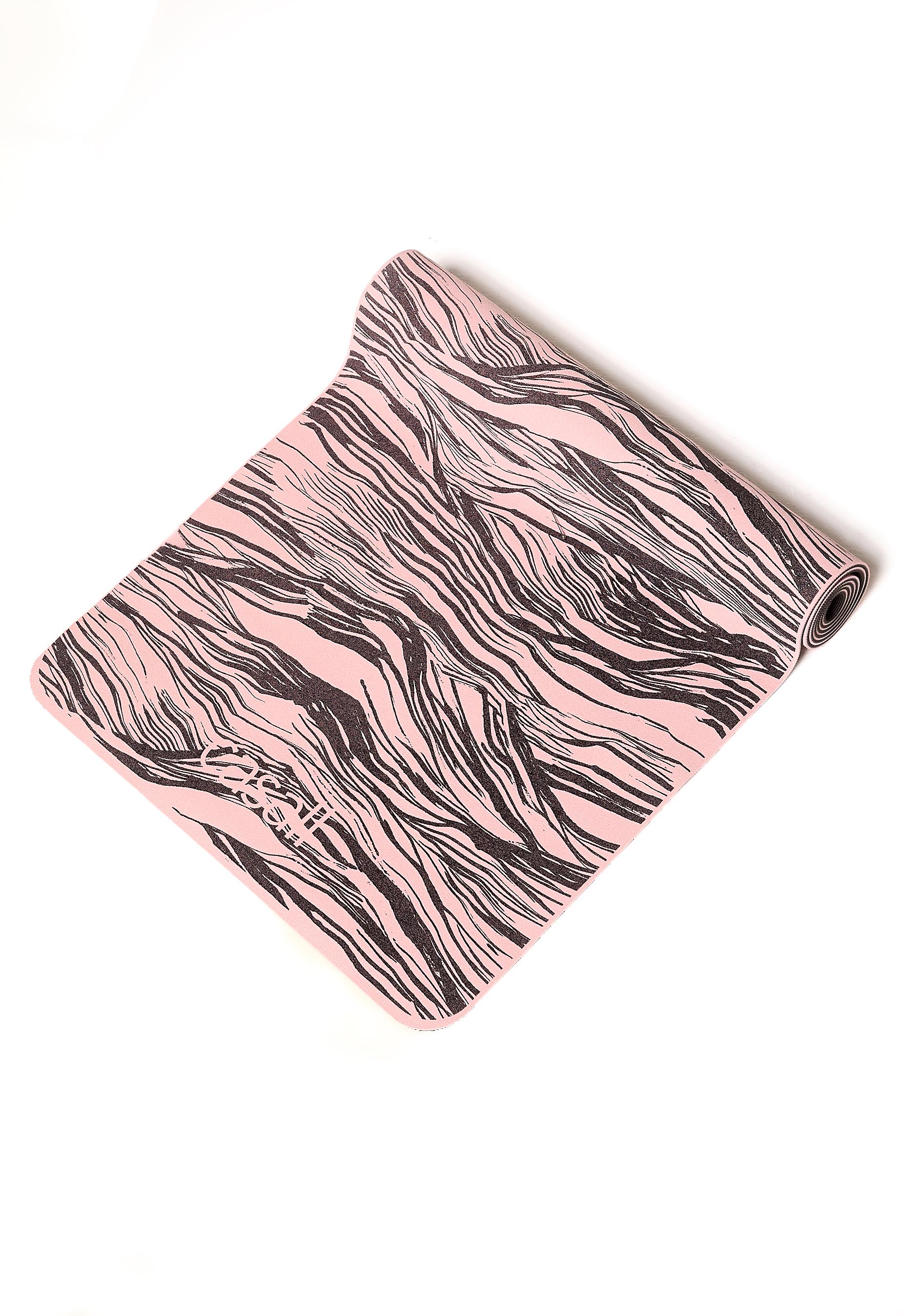 Casall Yoga Mat Cushion 5mm Lucky Pink / Black P