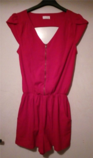 Övrigt Röd byxdress jumpsuit playsuit jump suit byx dress